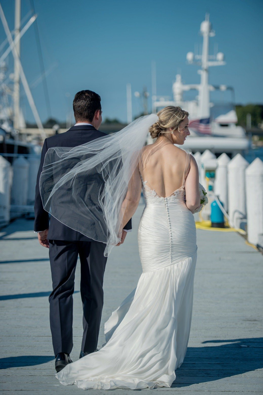 Classic & Nautical Wedding at Belle Mer in Newport, RI