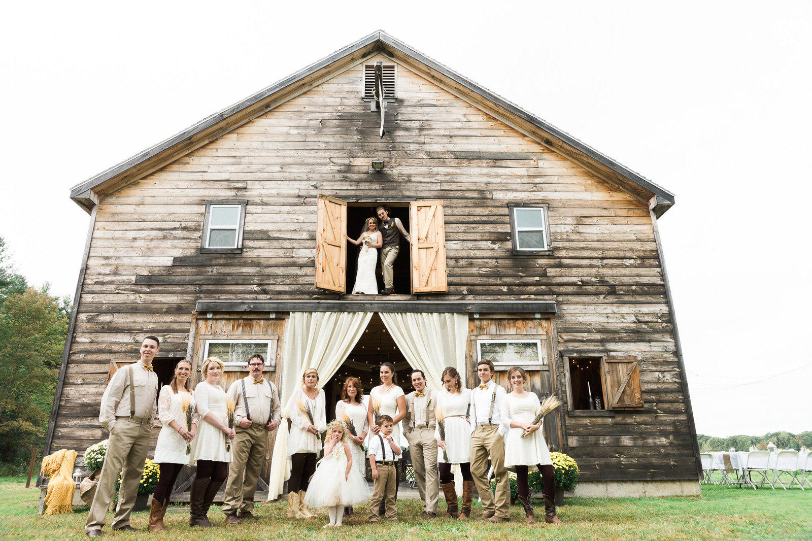 Newbury Photographs | Boston Wedding and Portrait Photographer | Sidney Maine Farm Wedding-140