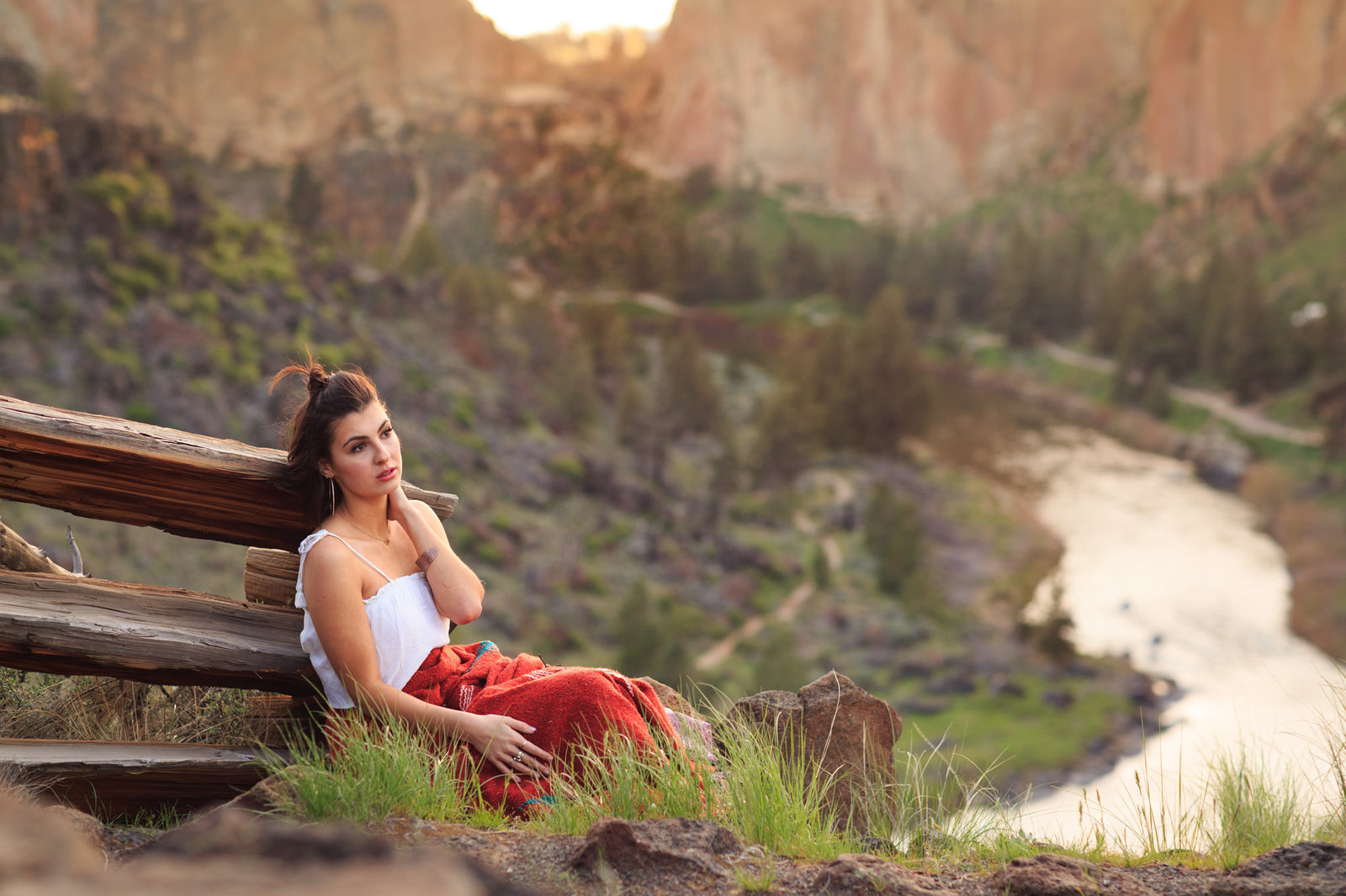 Rebecca Bonno Photography Jax Senior photographer Smith Rock Bend Oregon-620