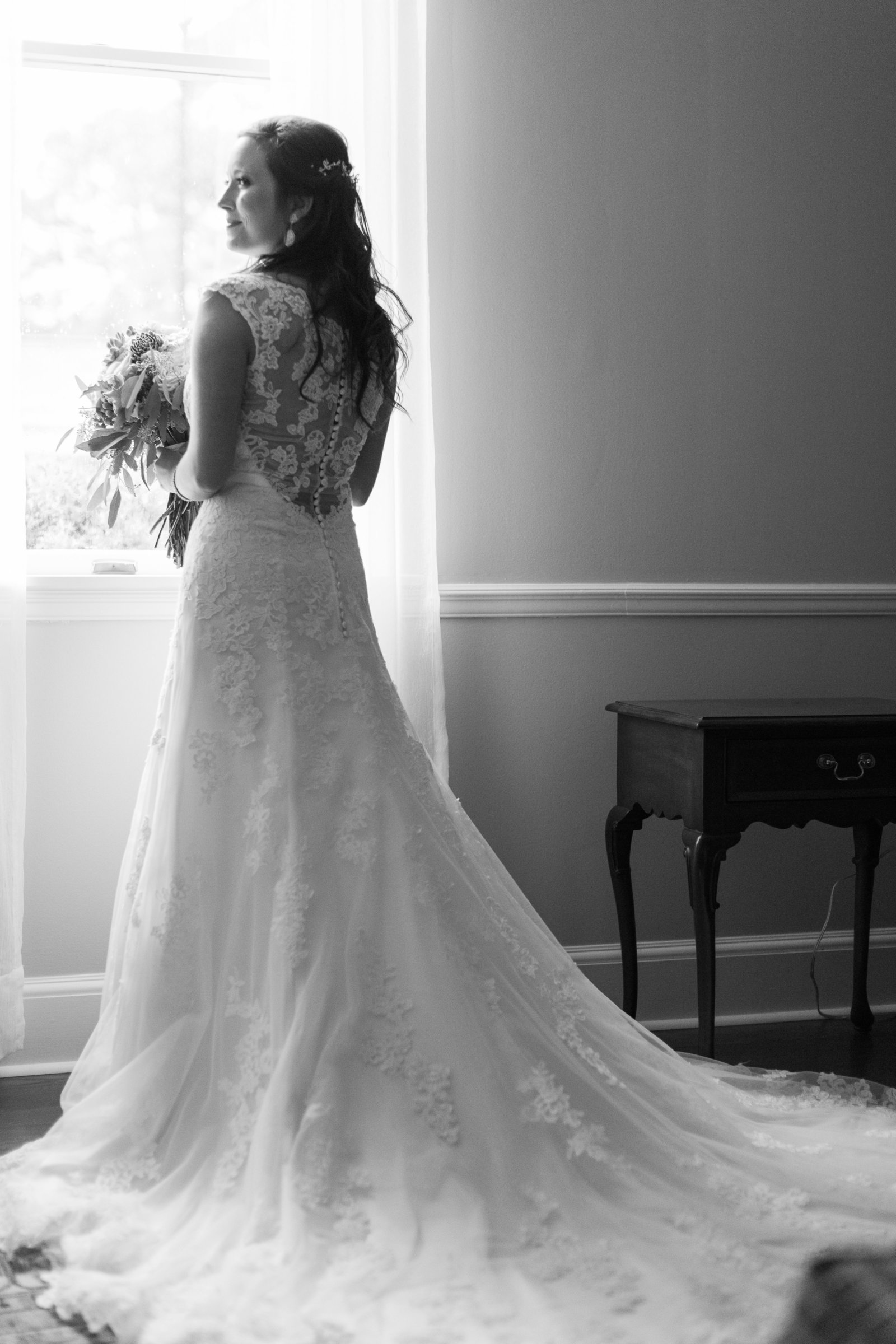 Wedding Day-CCNC-Bridal Portrait