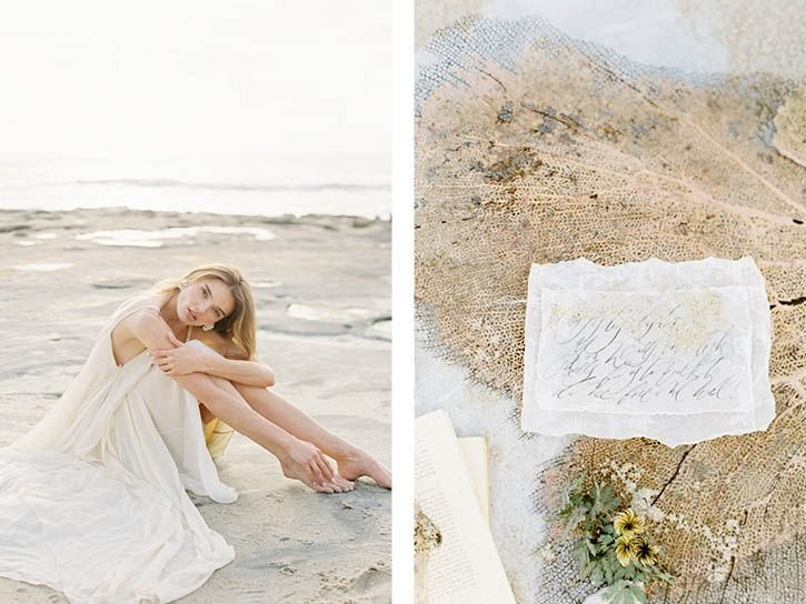 Coastal Beach Wedding Inspiration- Ashley Rae Photography Arizona and California Film Photographer13