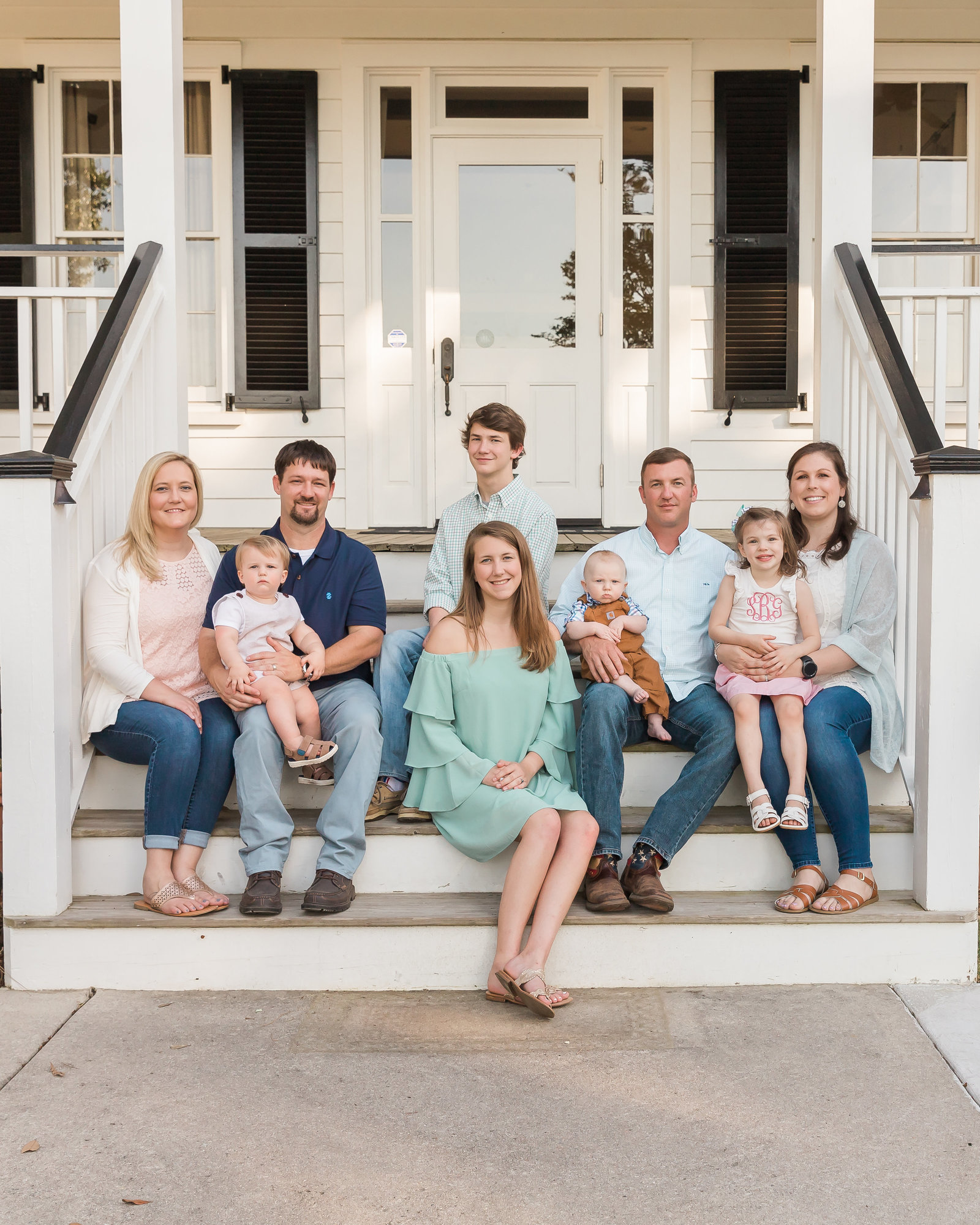 2019-04-28 Barnes and Stewart Families_2019 _Charleston SC Family Photographer_16