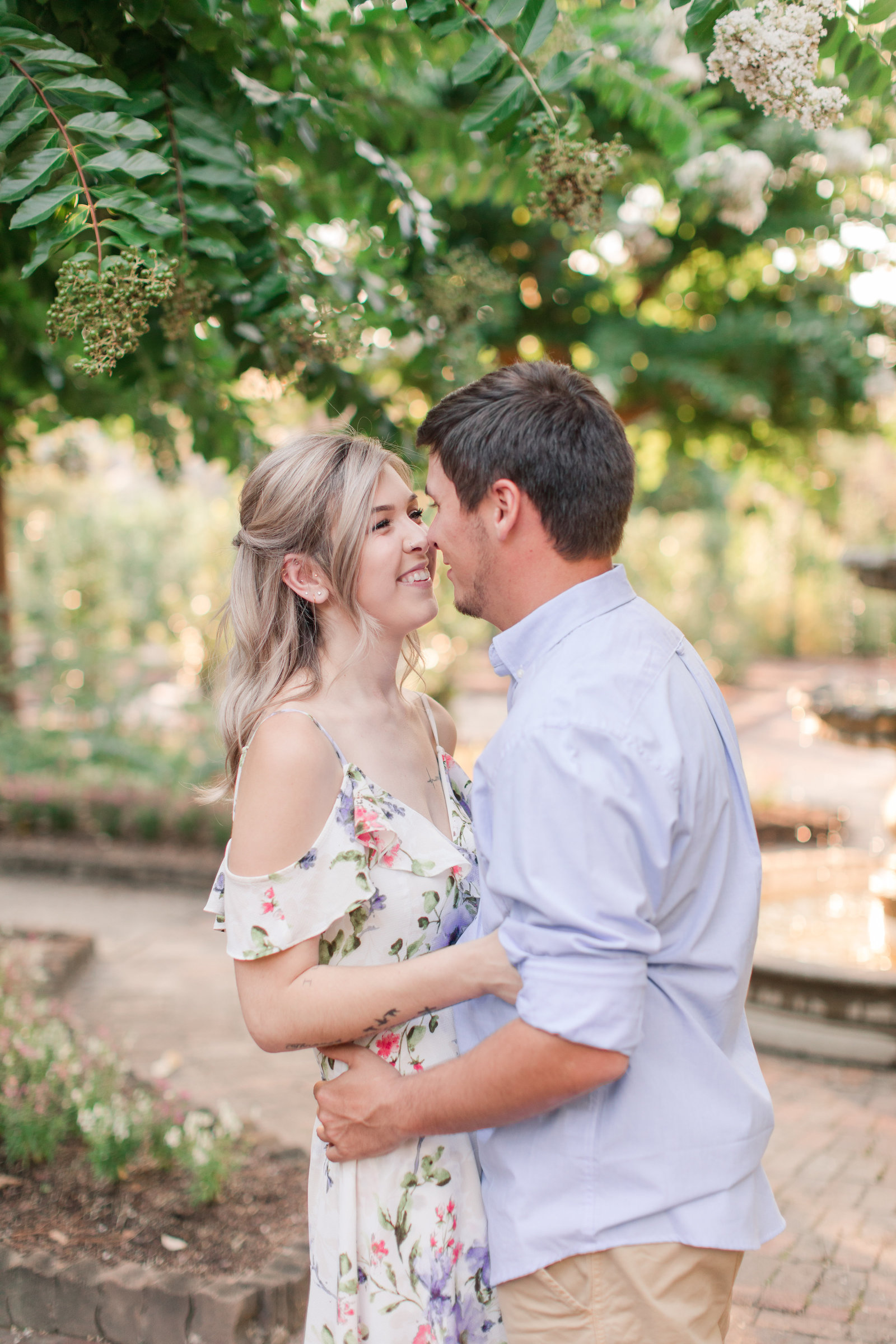 Jennifer B Photography-Sandhills Horticultural Gardens Engagement-Pinehurst NC-Cody and Kayla-2019-0081