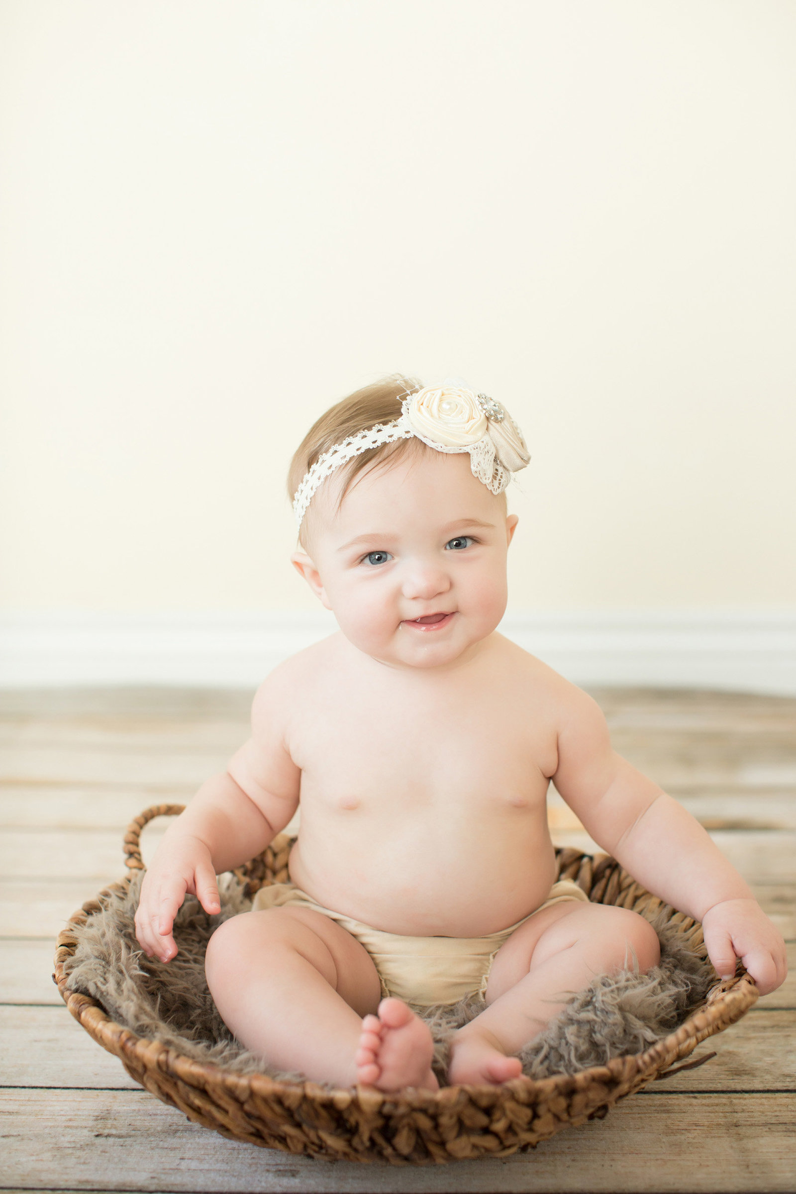 jeweled headband little girl photography