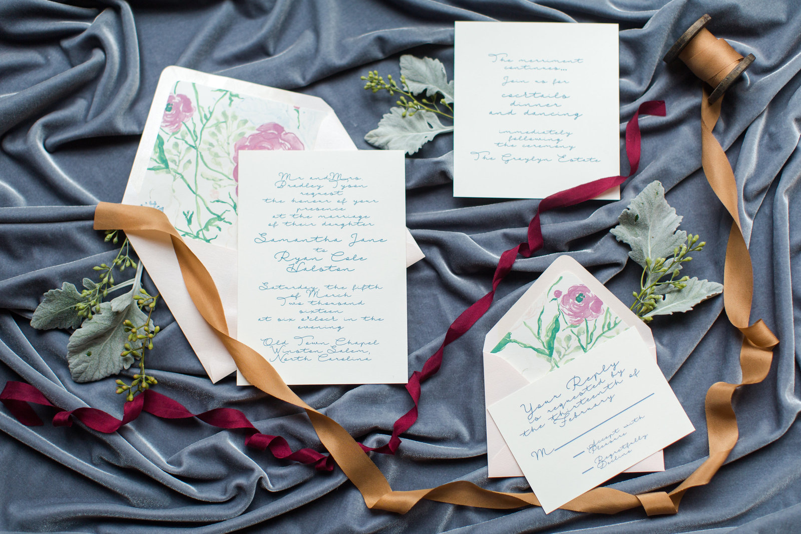 The Graylyn Estate Spring Wedding Inspiration North Carolina Wedding Photo-54