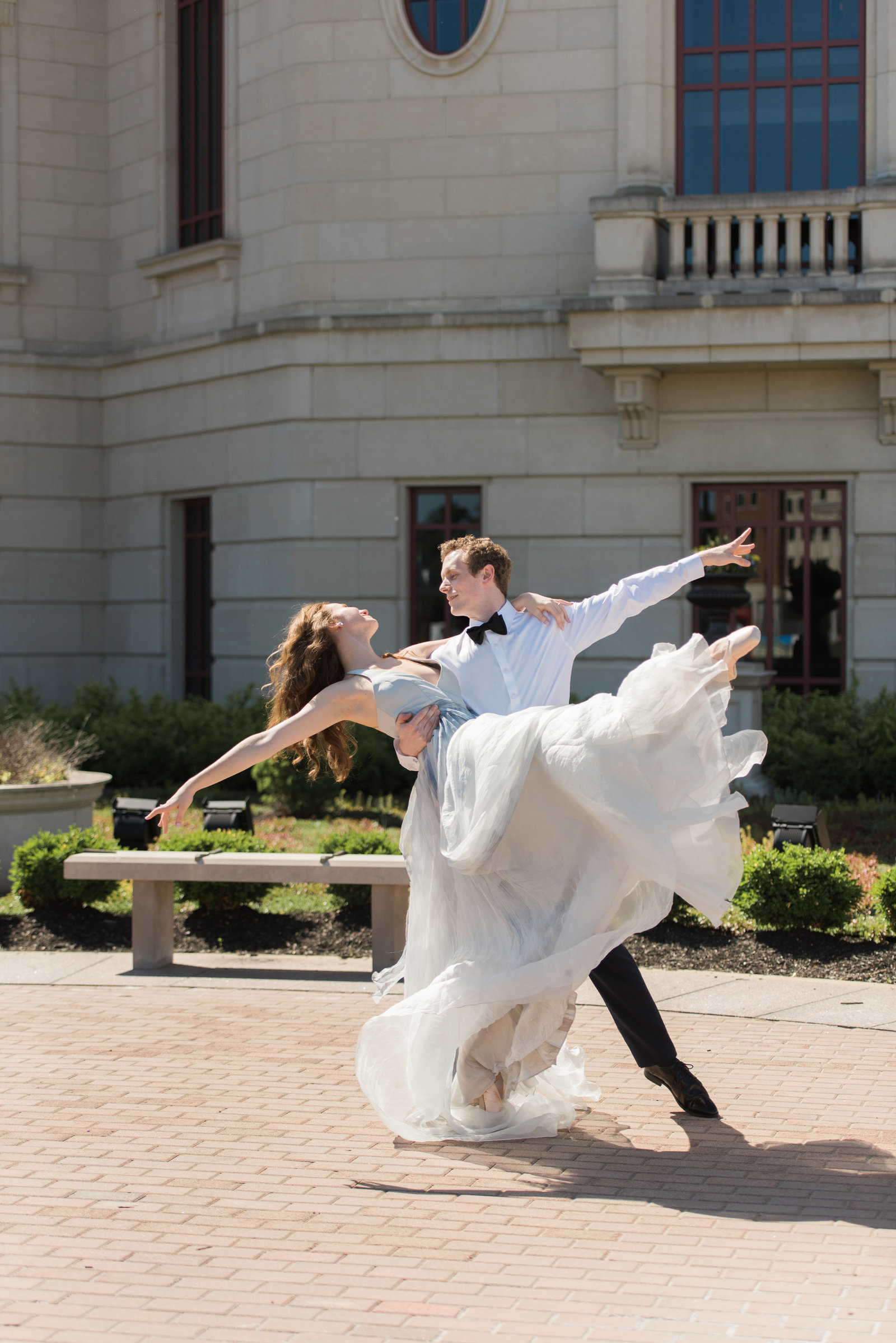 Ballet Inspired Engagement Session at the Palladium in Carmel Indiana (101 of 129)
