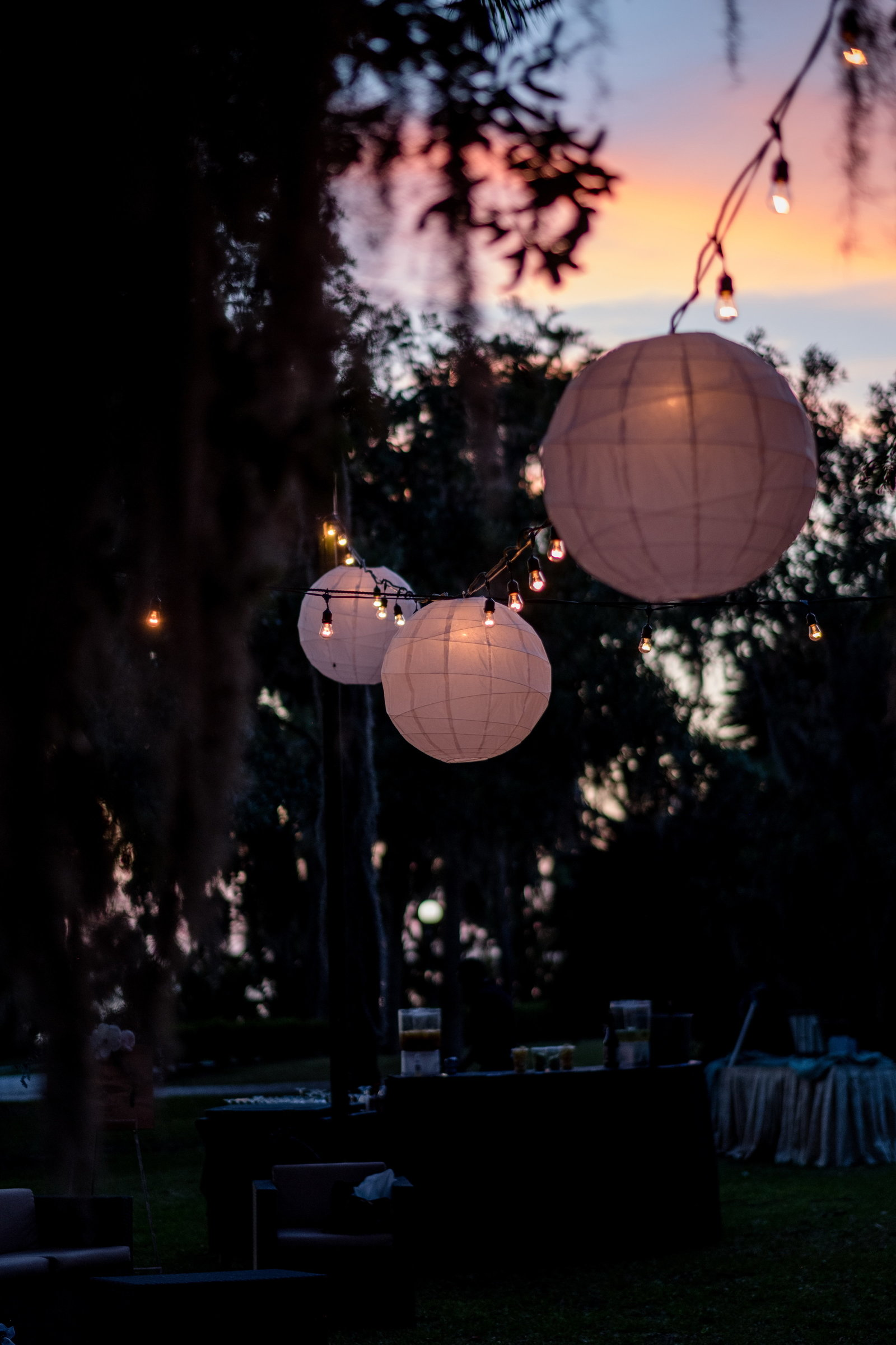 Jekyll Island Weddings, Lanterns, Bobbi Brinkman Photography