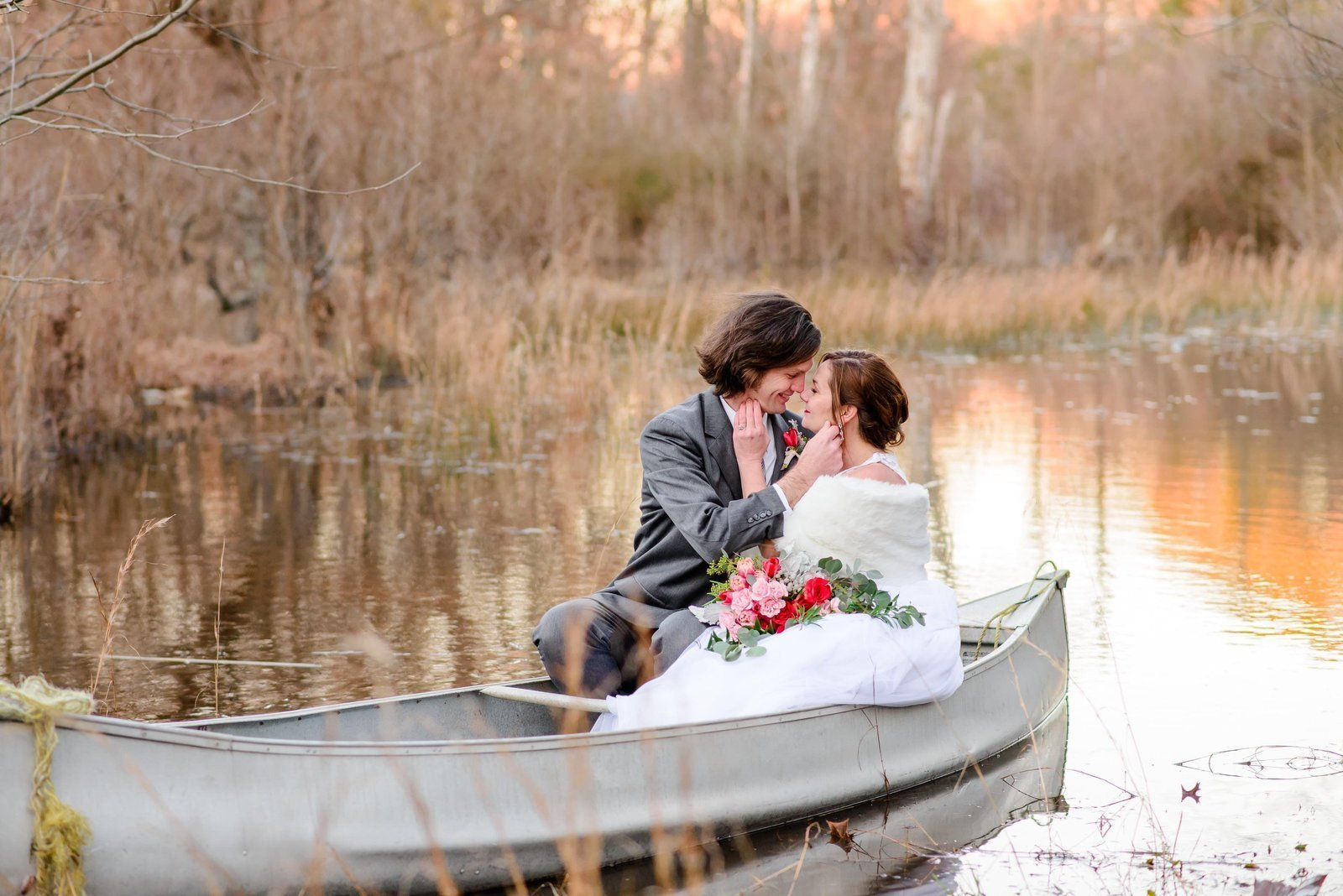 BSP-DC-Wedding-Photographers-Couples-Intimate-Moment-Canoe-Engagement