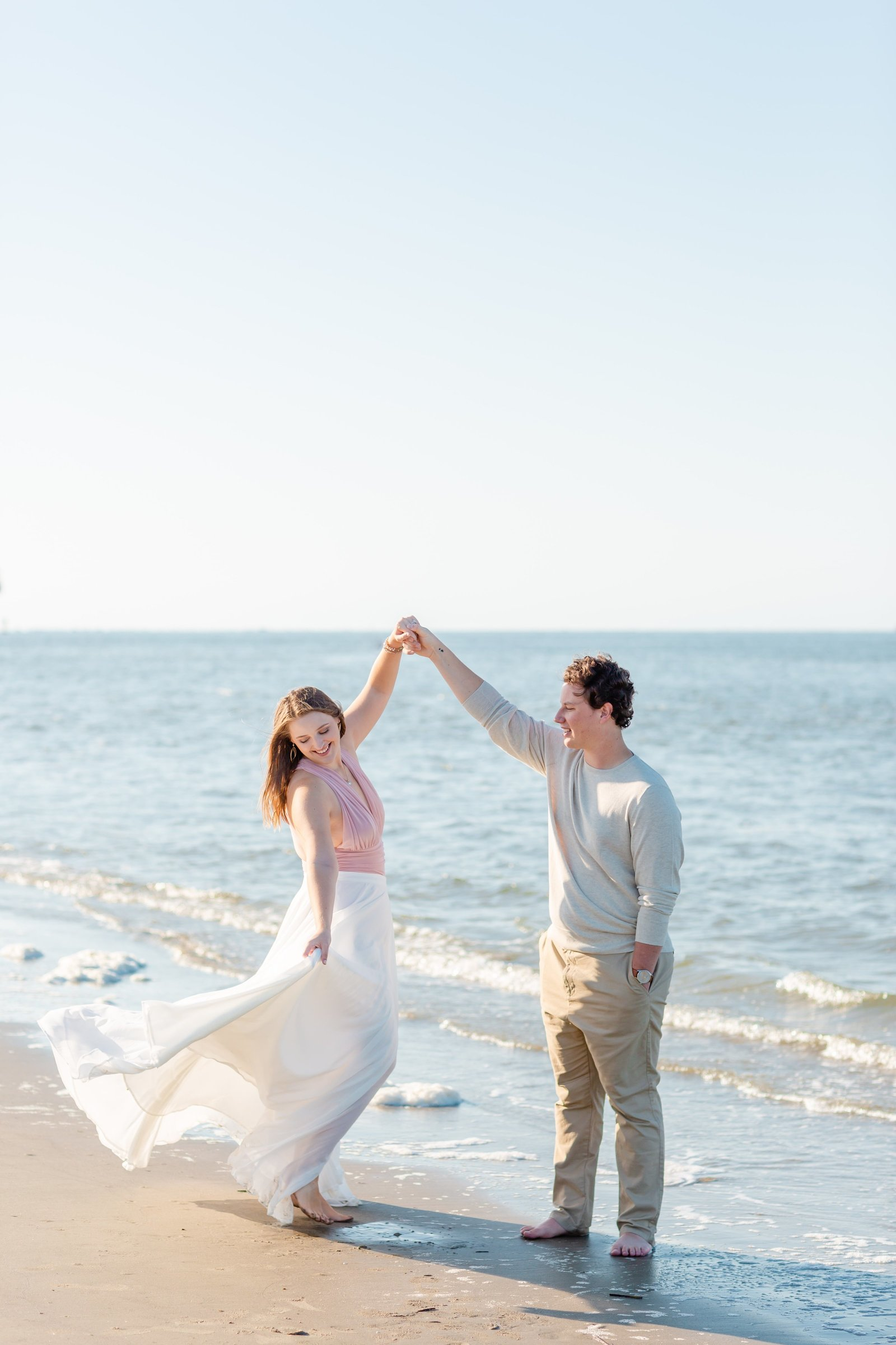 B + K Downtown Charleston Engagement Session by Charleston Wedding Photographer-14