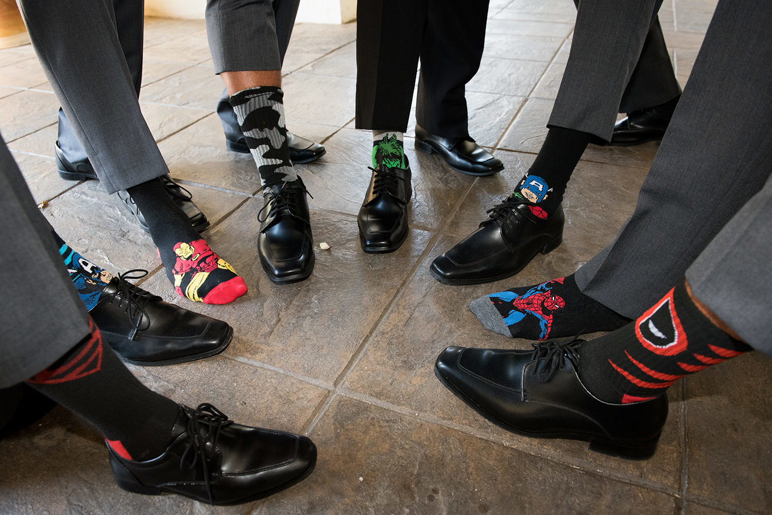 bridal party at wedgewood cute funny socks