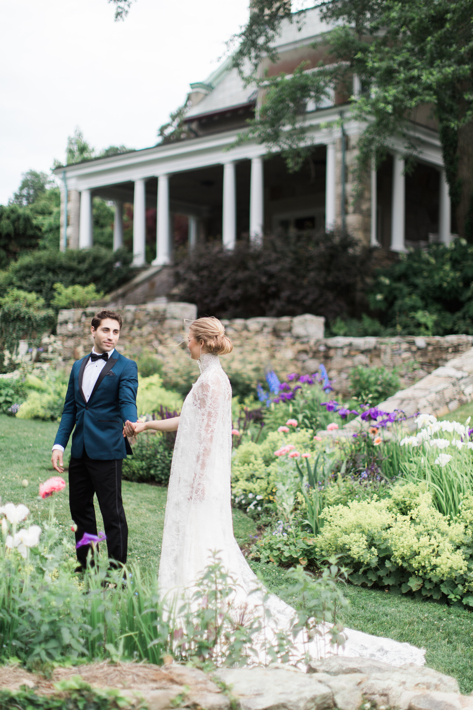 Blithewold Mansion_Newport_Rhode Island_Summer Wedding-44