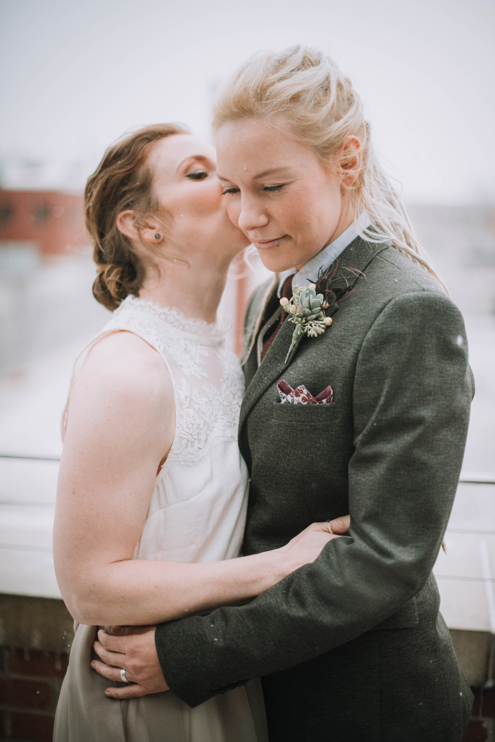 Grand Rapids LGBT Wedding Photographer