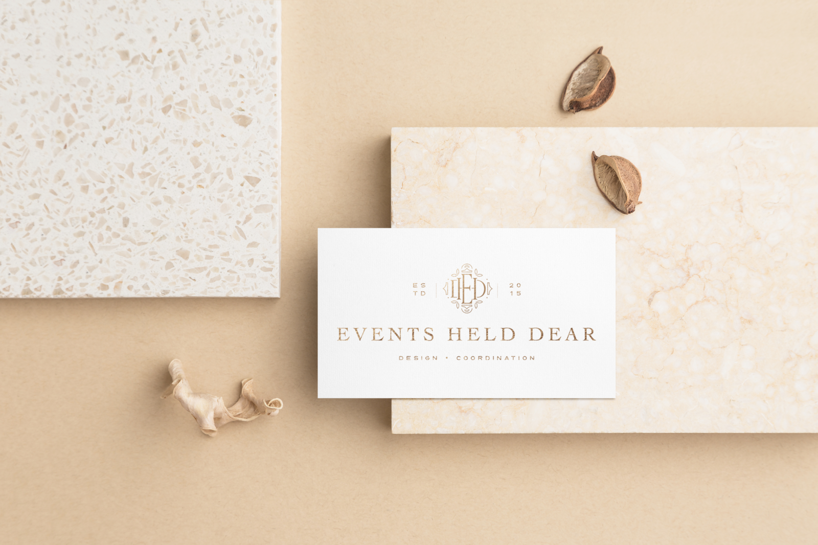 Events Held Dear - Custom Brand and Showit Web Design by With Grace and Gold - Branding and Web Design for Wedding andn Event Planners - 5