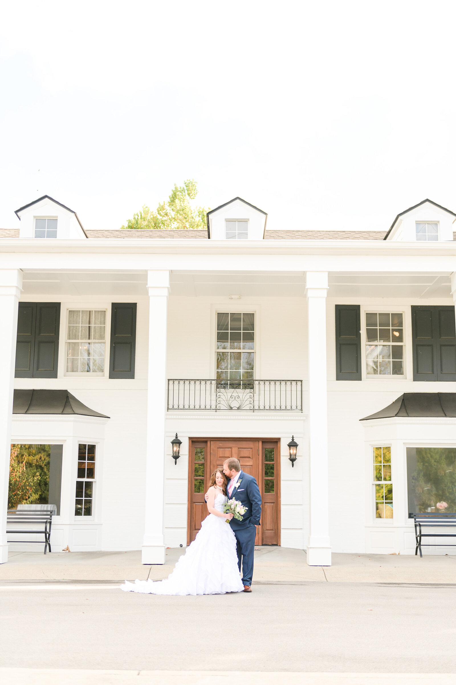 Blush and Navy Wedding at Black Iris Estate