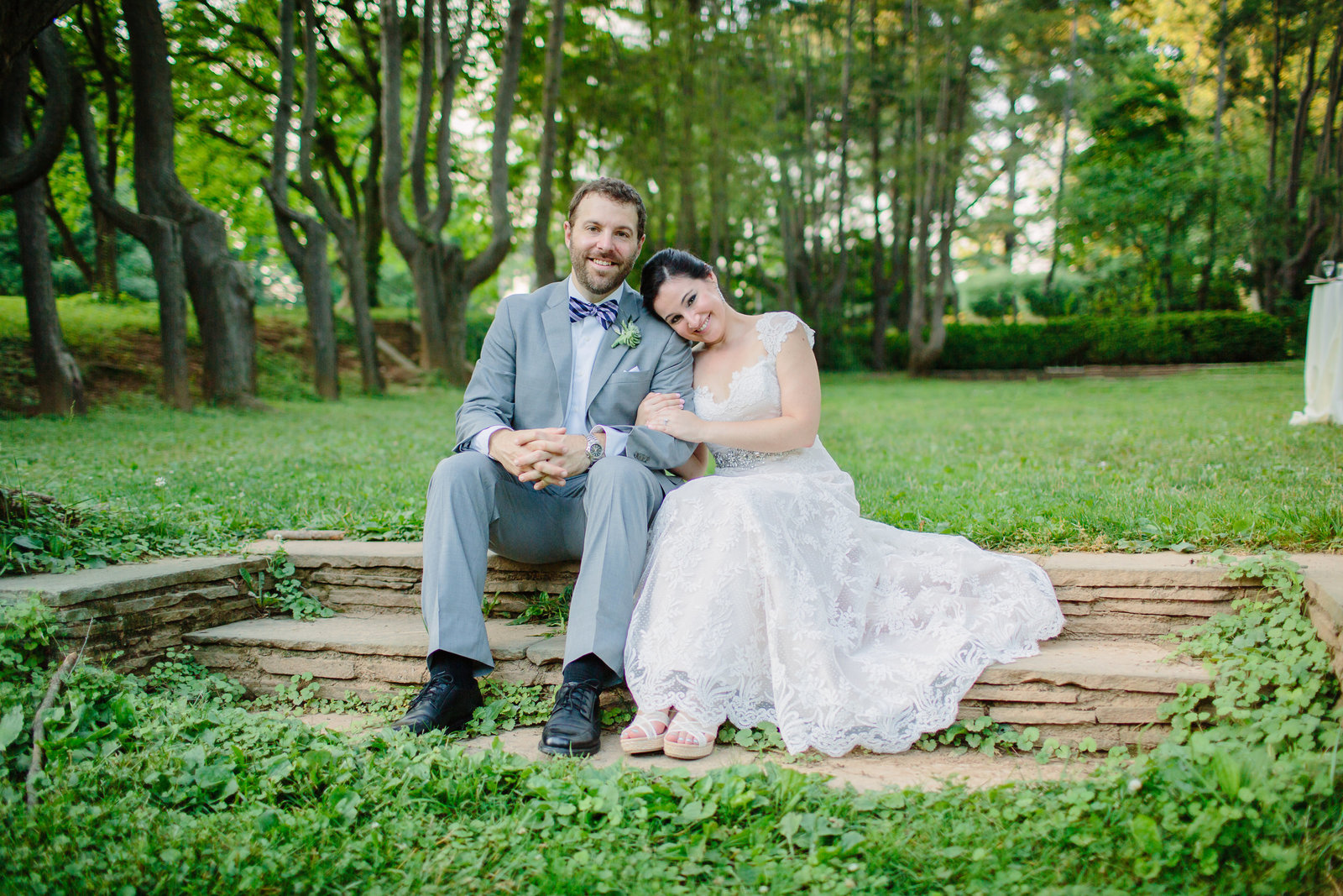 Woodend Sanctuary Wedding Portrait