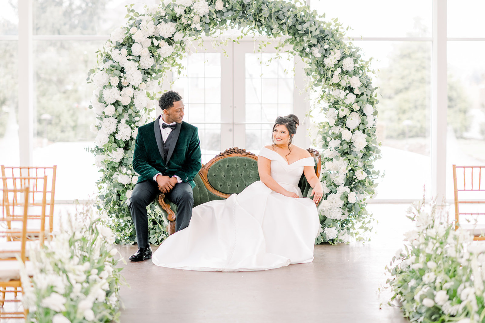 Ritz Charles Emerald Styled Shoot 2020 - Alison Mae Photography - Indianapolis Wedding Photographer-186
