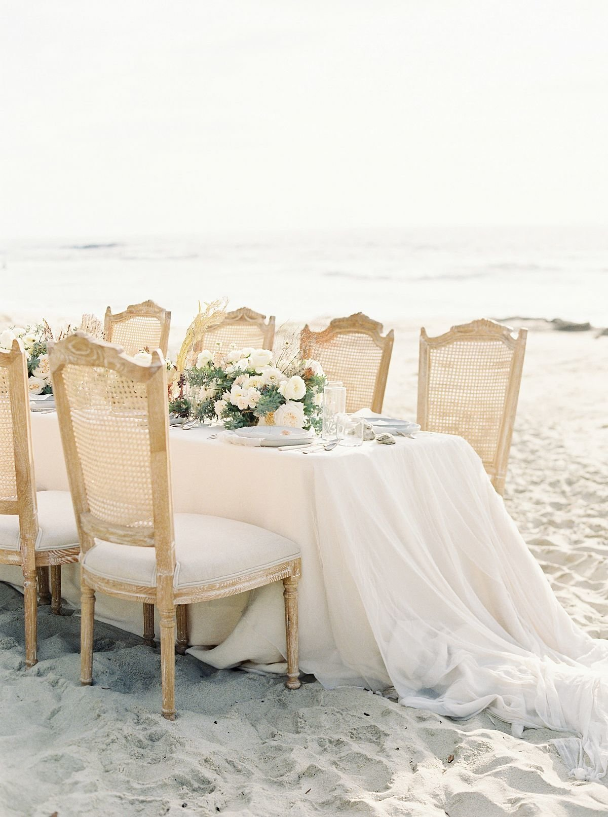 Coastal Beach Wedding Inspiration- Ashley Rae Photography Arizona and California Film Photographer9