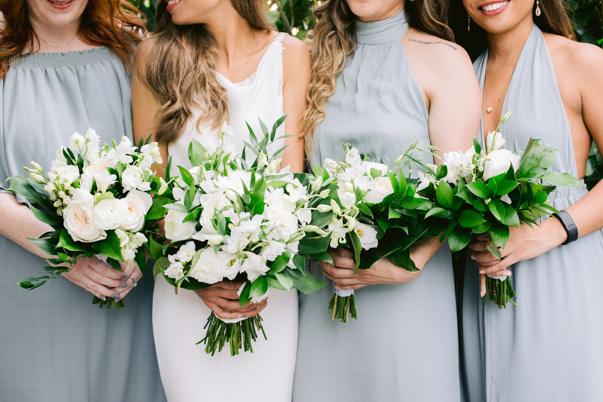 julia rhode bouquets bridesmaids