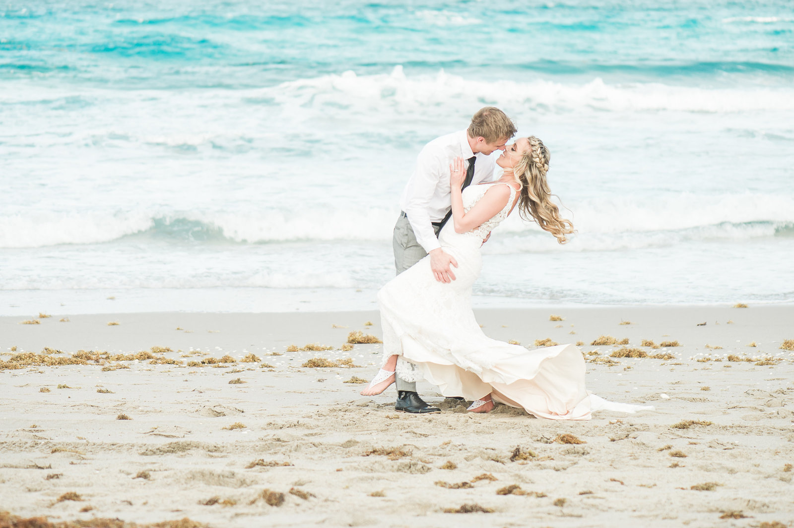 Florida Beach Wedding - Hilton Singer Island Wedding - Palm Beach Wedding Photography by Palm Beach Photography, Inc.