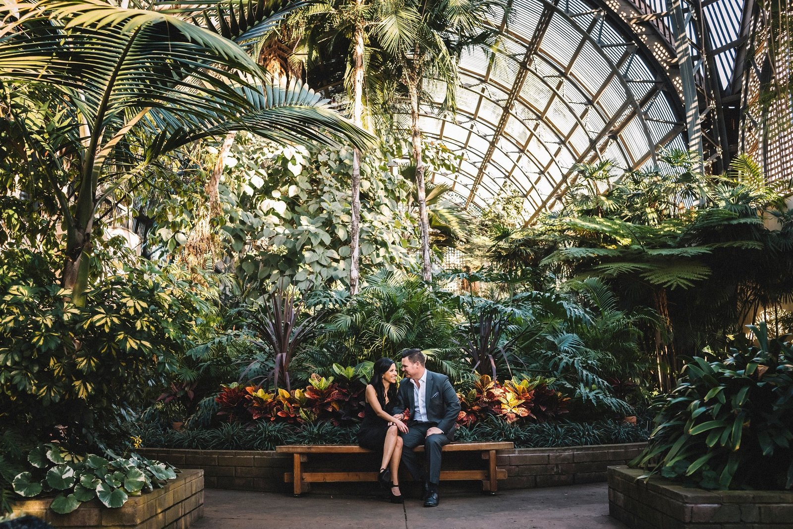 Balboa Park Engagement Session San Diego