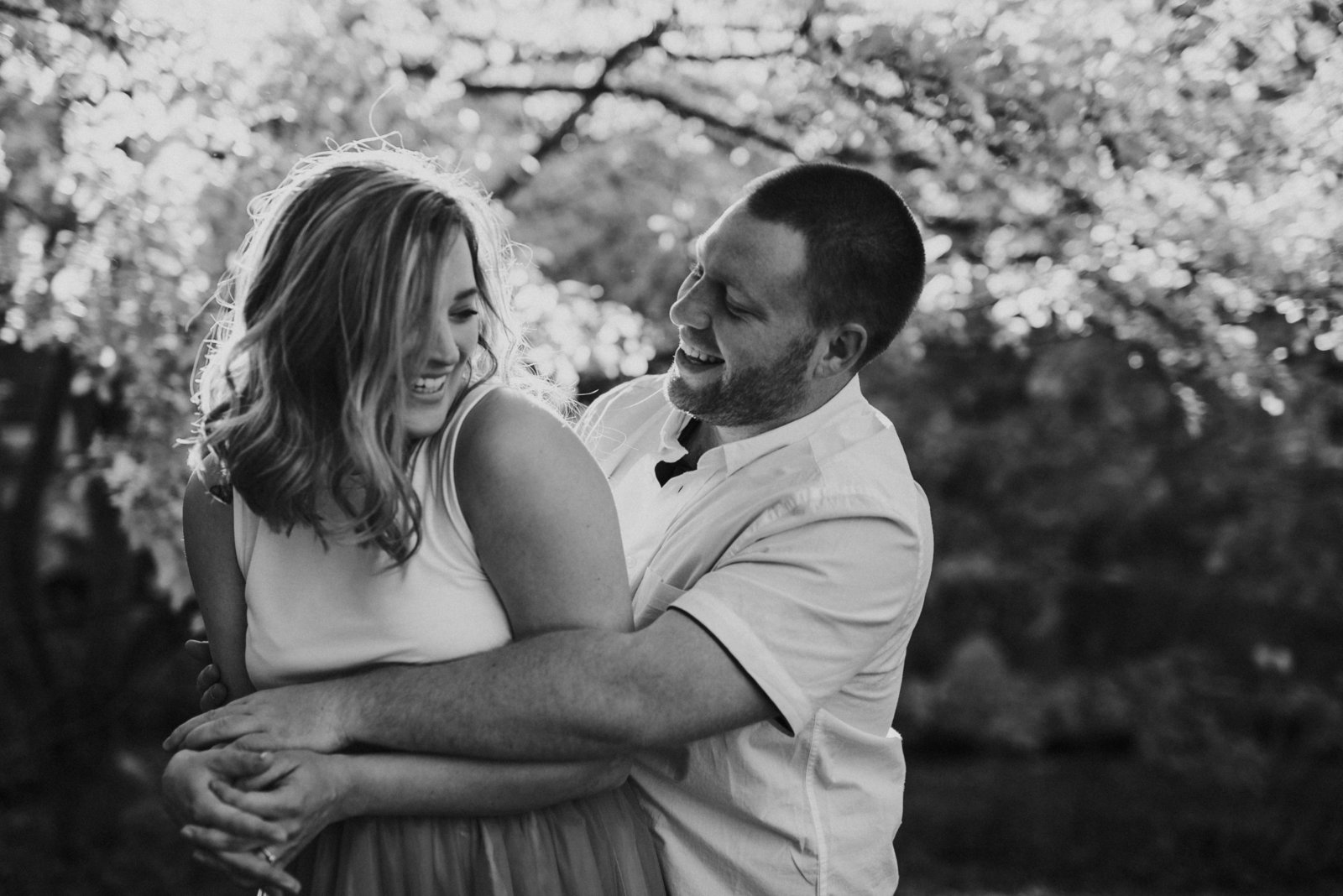 Michigan Wedding Photographer, East Lansing MSU Campus Engagement Session