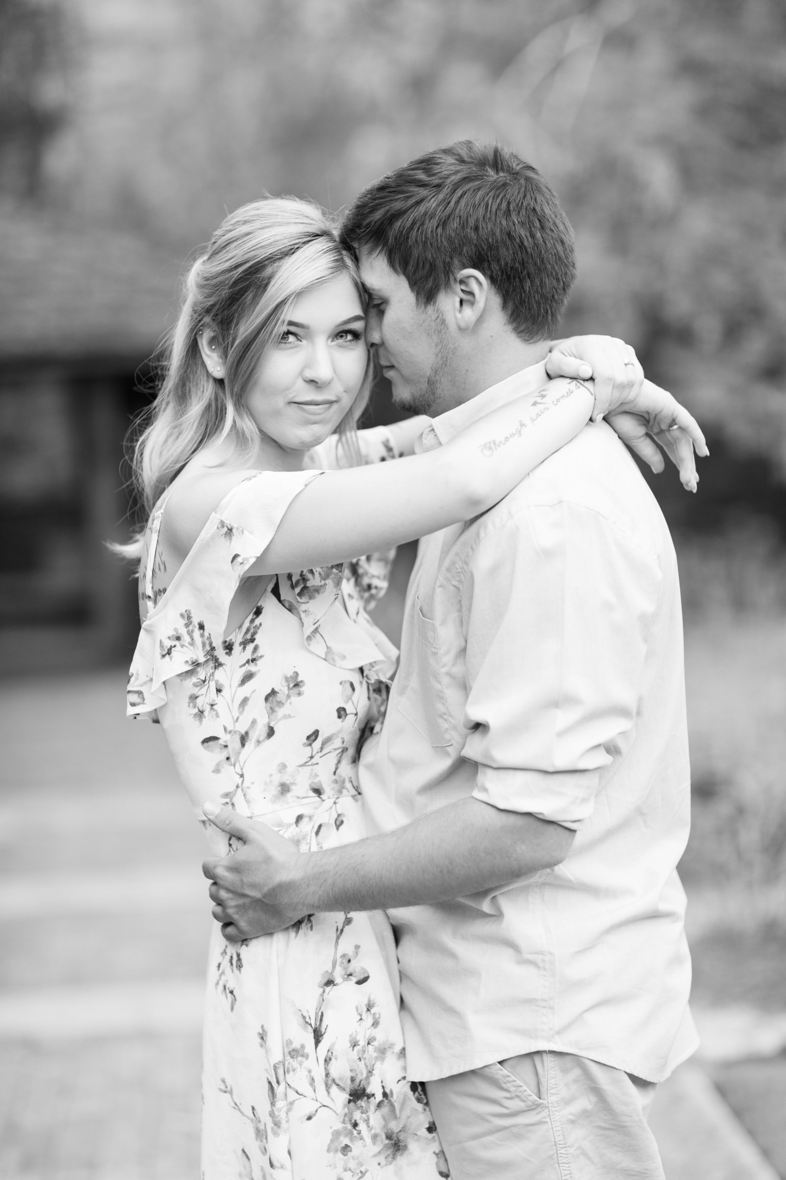 Jennifer B Photography-Sandhills Horticultural Gardens Engagement-Pinehurst NC-Cody and Kayla-2019-0052