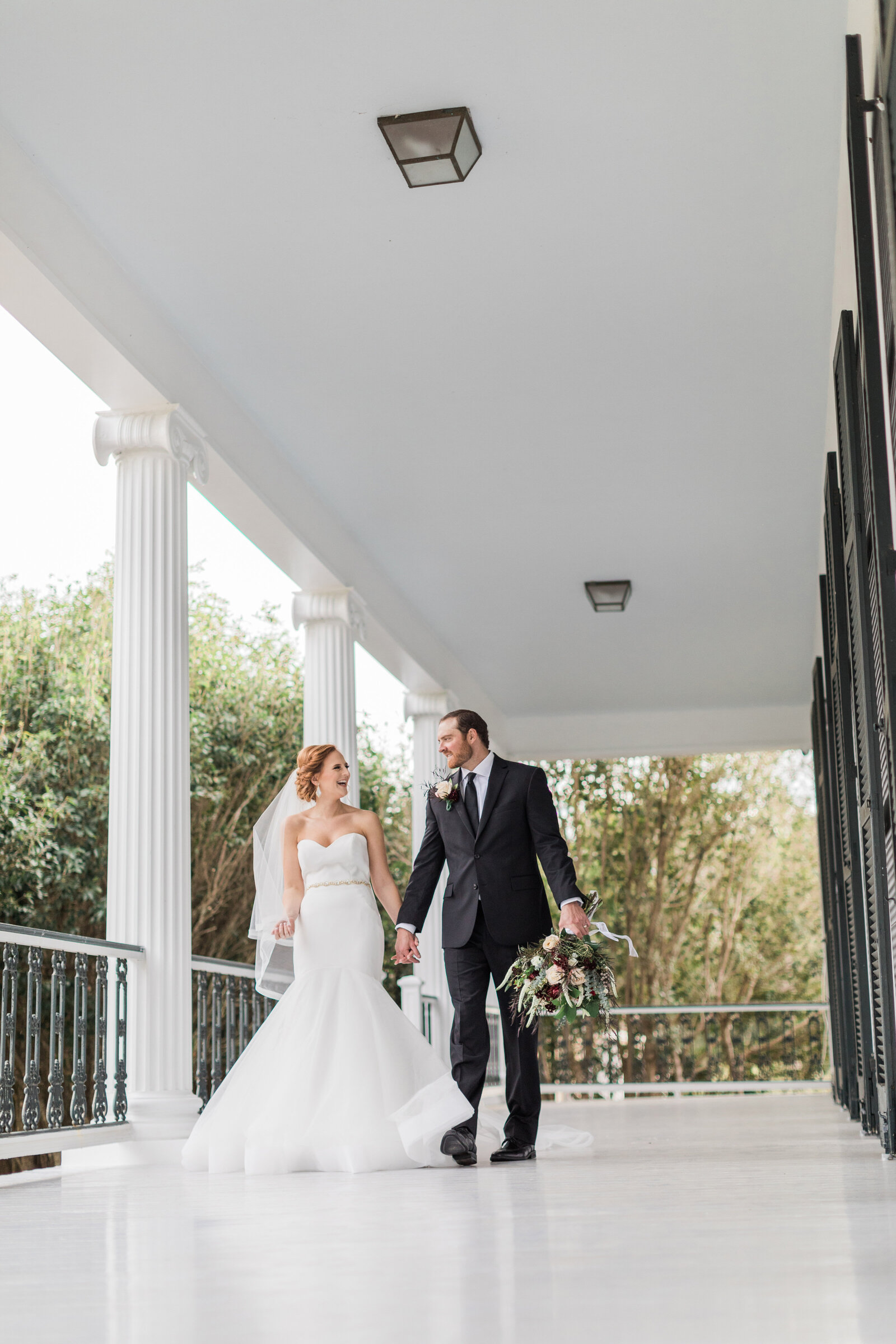 Married Couple at Brandon Hall Plantation