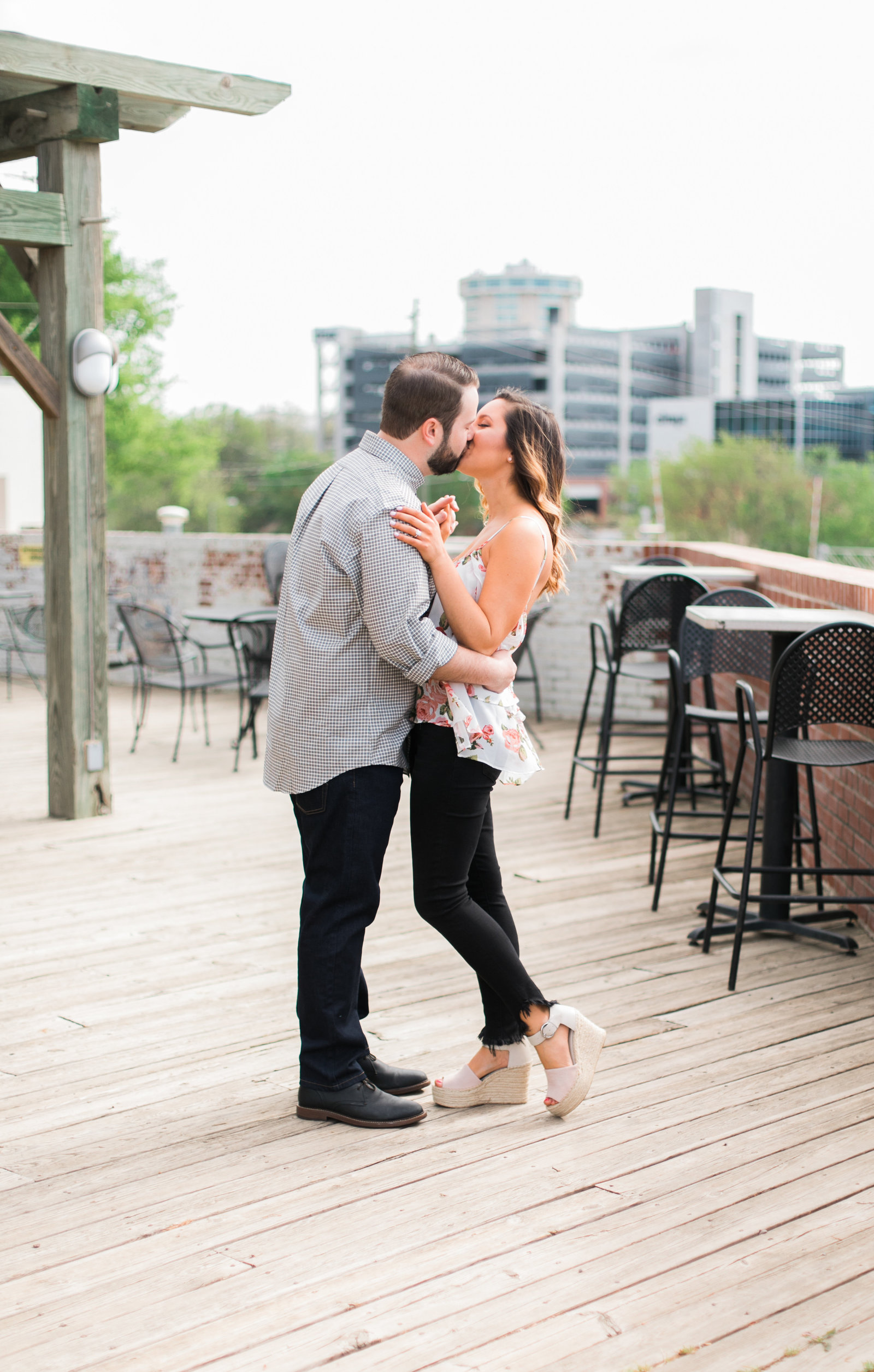 Boylan Bridge Raleigh Engagement Photographer