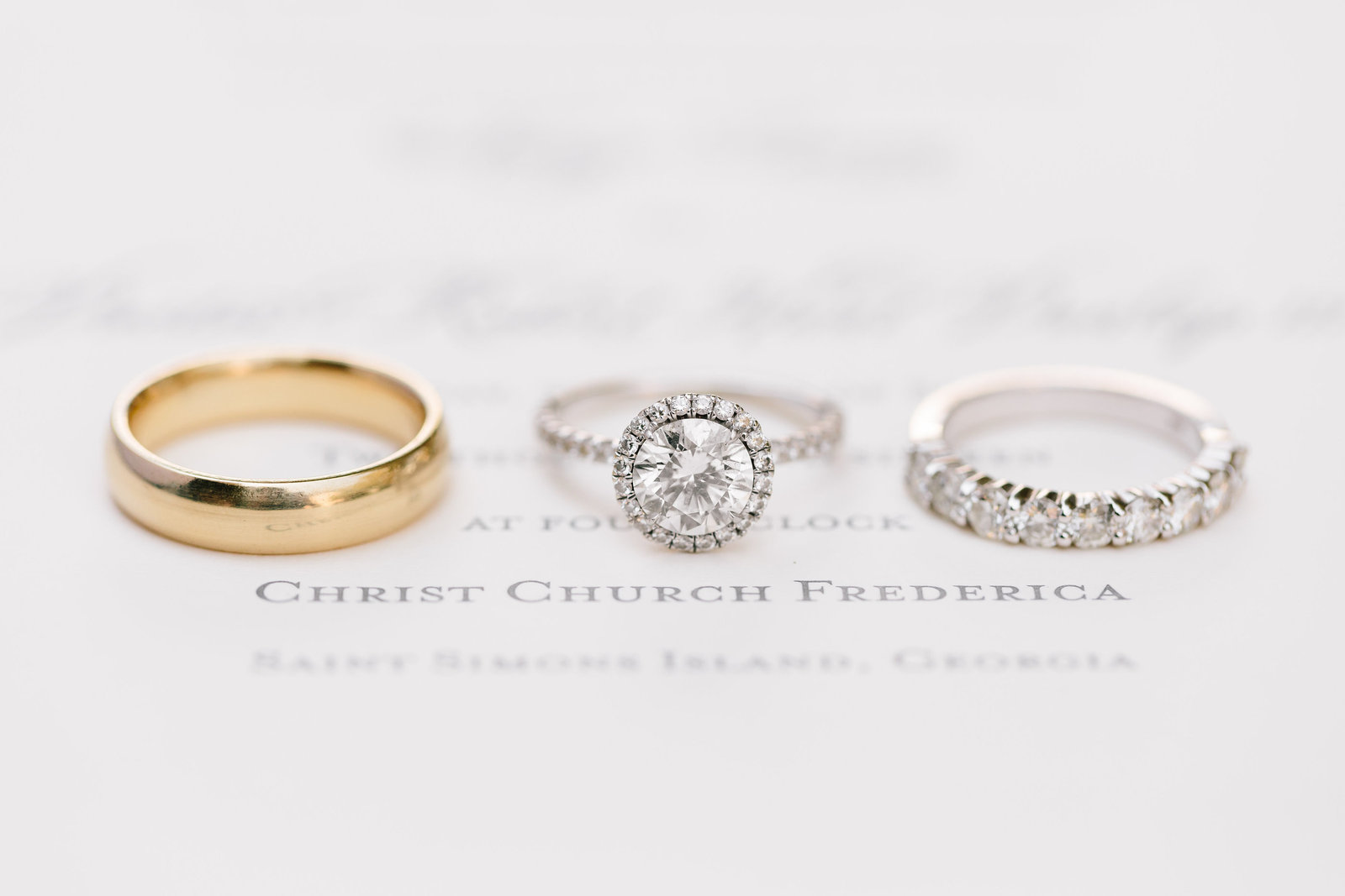 Wedding Photography of Wedding Rings