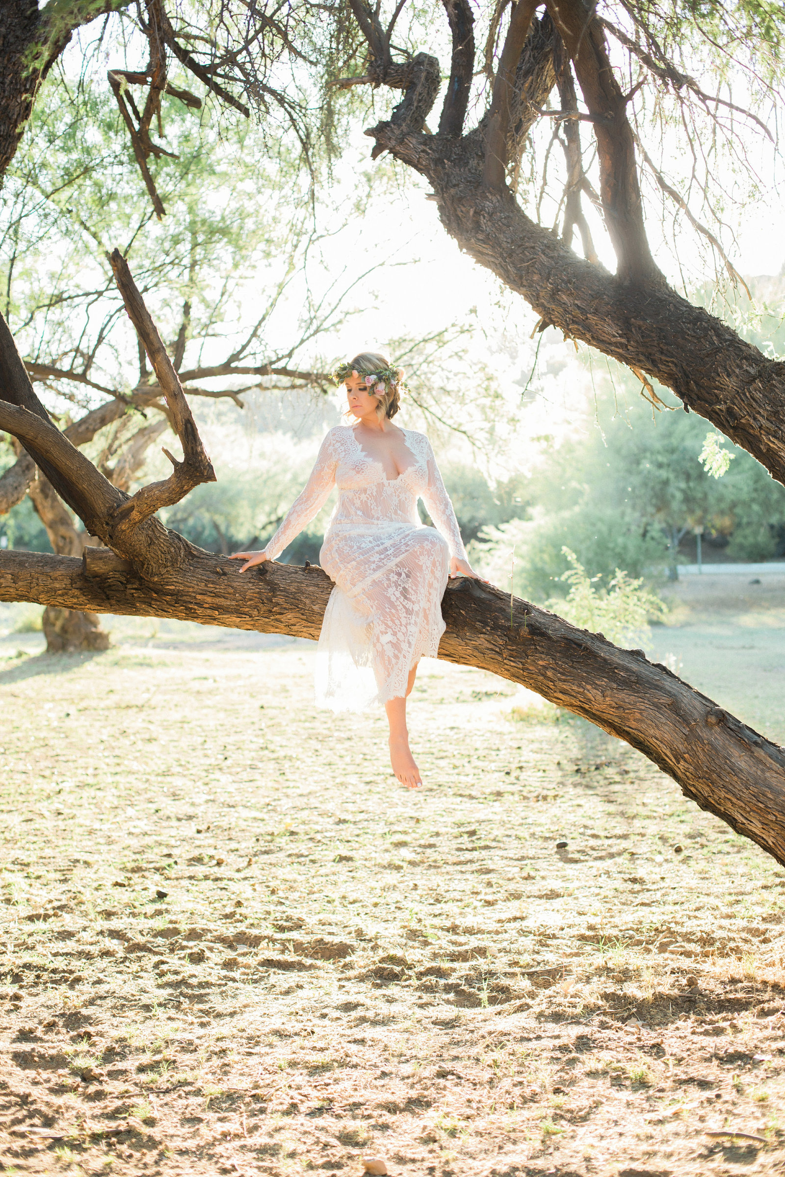 sultry boudoir outdoors, phoenix az photography