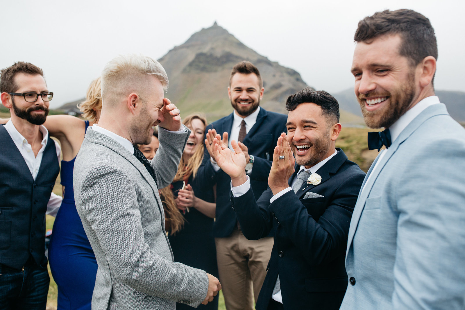 gay couple just married in iceland