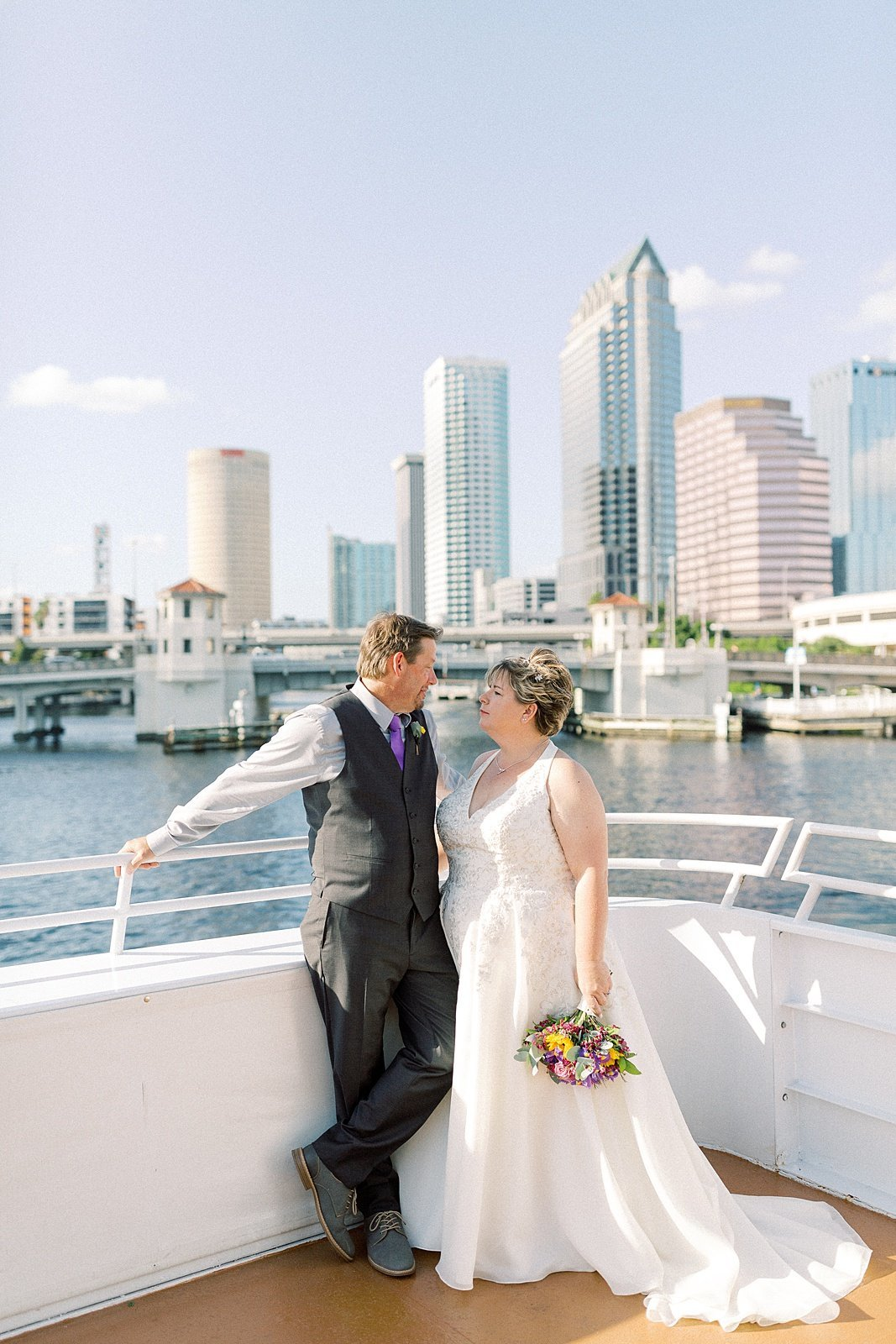 Casie Marie Photography Wedding Couples of 2019_Fenbers Wedding Yacht Starship Tampa Florida