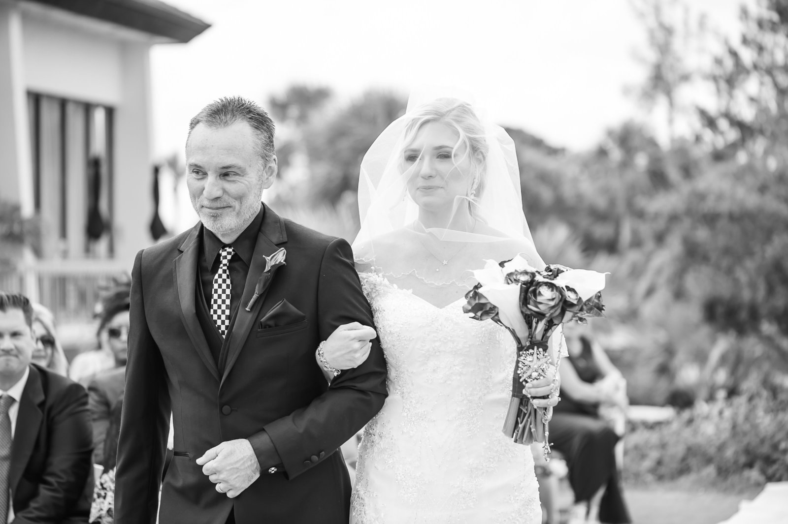 Dads Walking - Myacoo Country Club Wedding - Palm Beach Wedding Photography by Palm Beach Photography, Inc.