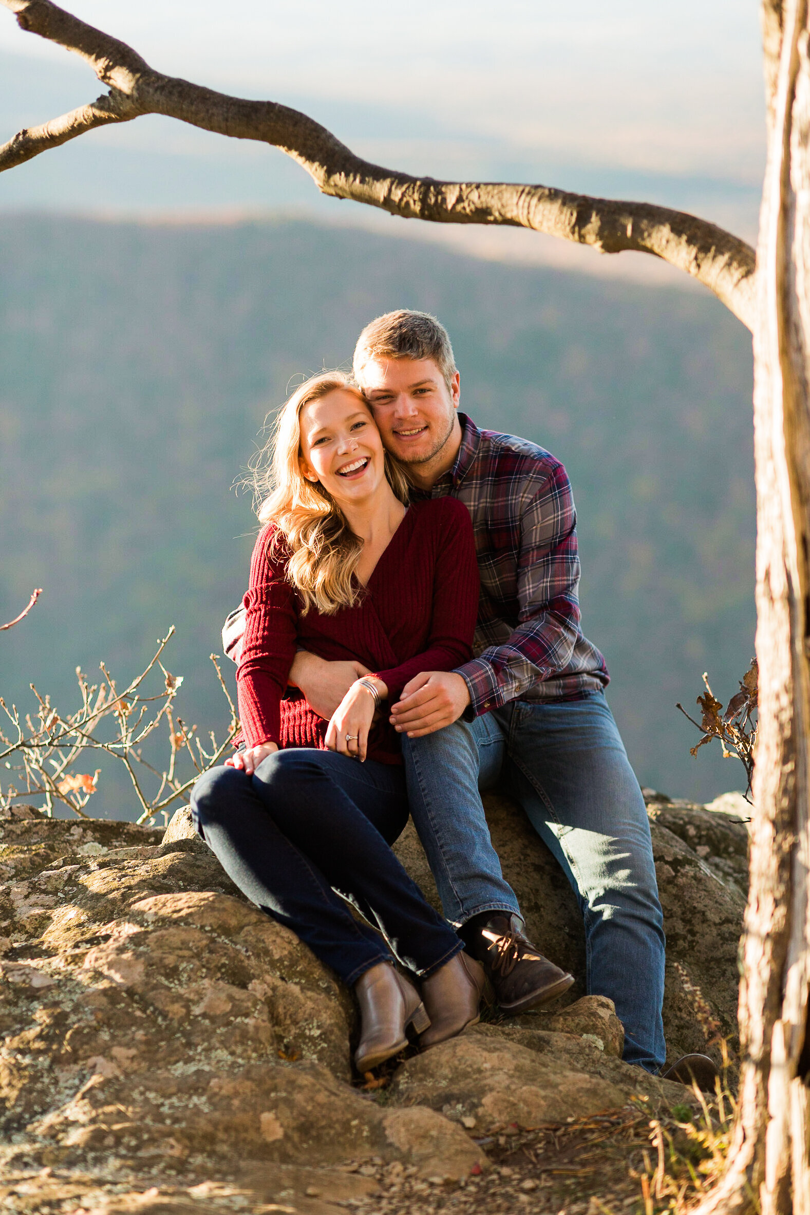 Fall Mountain Engagement Session in the Shenandoah Valley-19