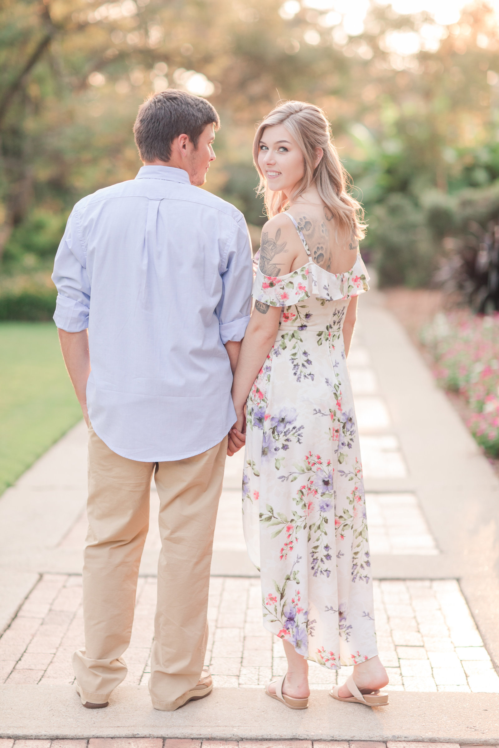 Jennifer B Photography-Sandhills Horticultural Gardens Engagement-Pinehurst NC-Cody and Kayla-2019-0217