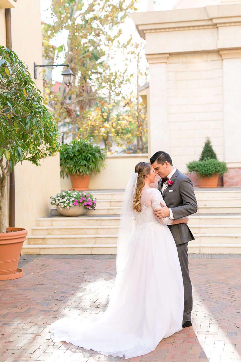 Loews Portofino Bay Hotel at Universal Orlando Wedding 10