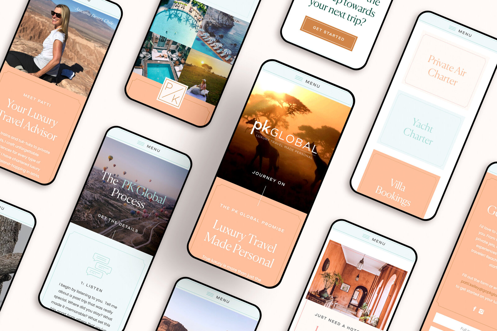 Mobile Mockups - Static Images