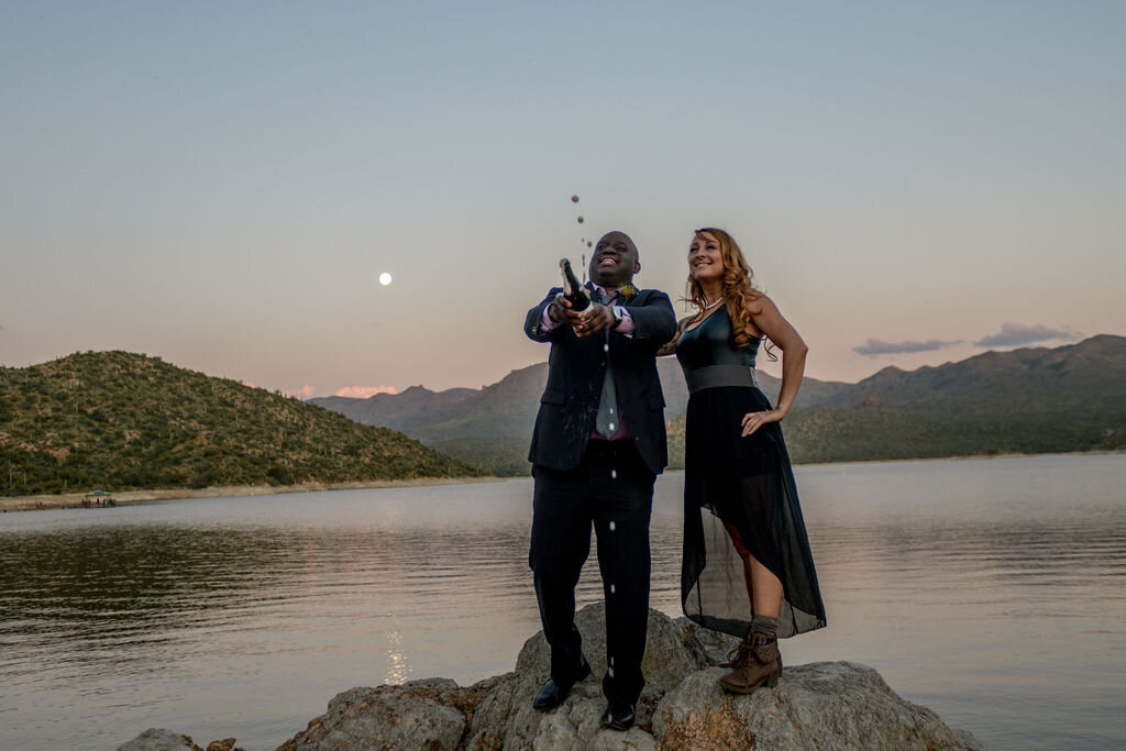 3.8.20BlackDressWeddingBartlettLakeSaguaroDesertElopmentPhotographybyTerriAttridge-3