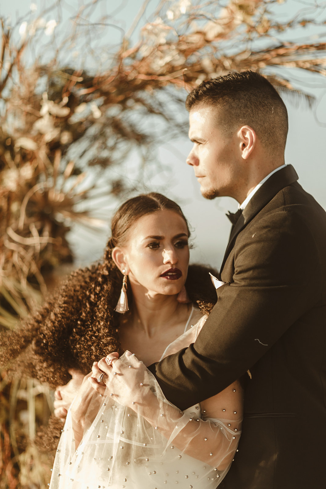 Celestial wedding inspiration_ beach elopement style-108