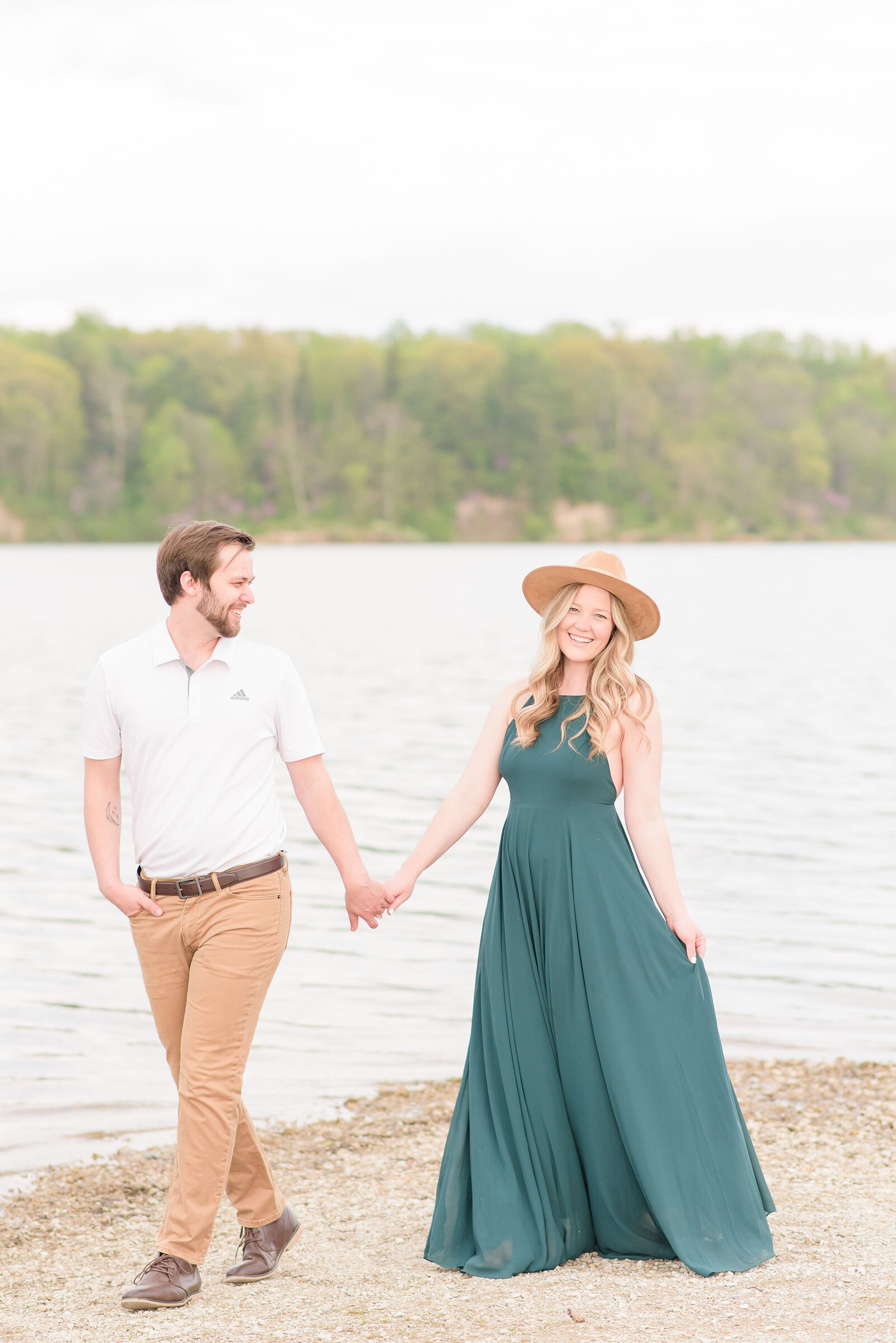 Eagle Creek Park Summer Engagement Session