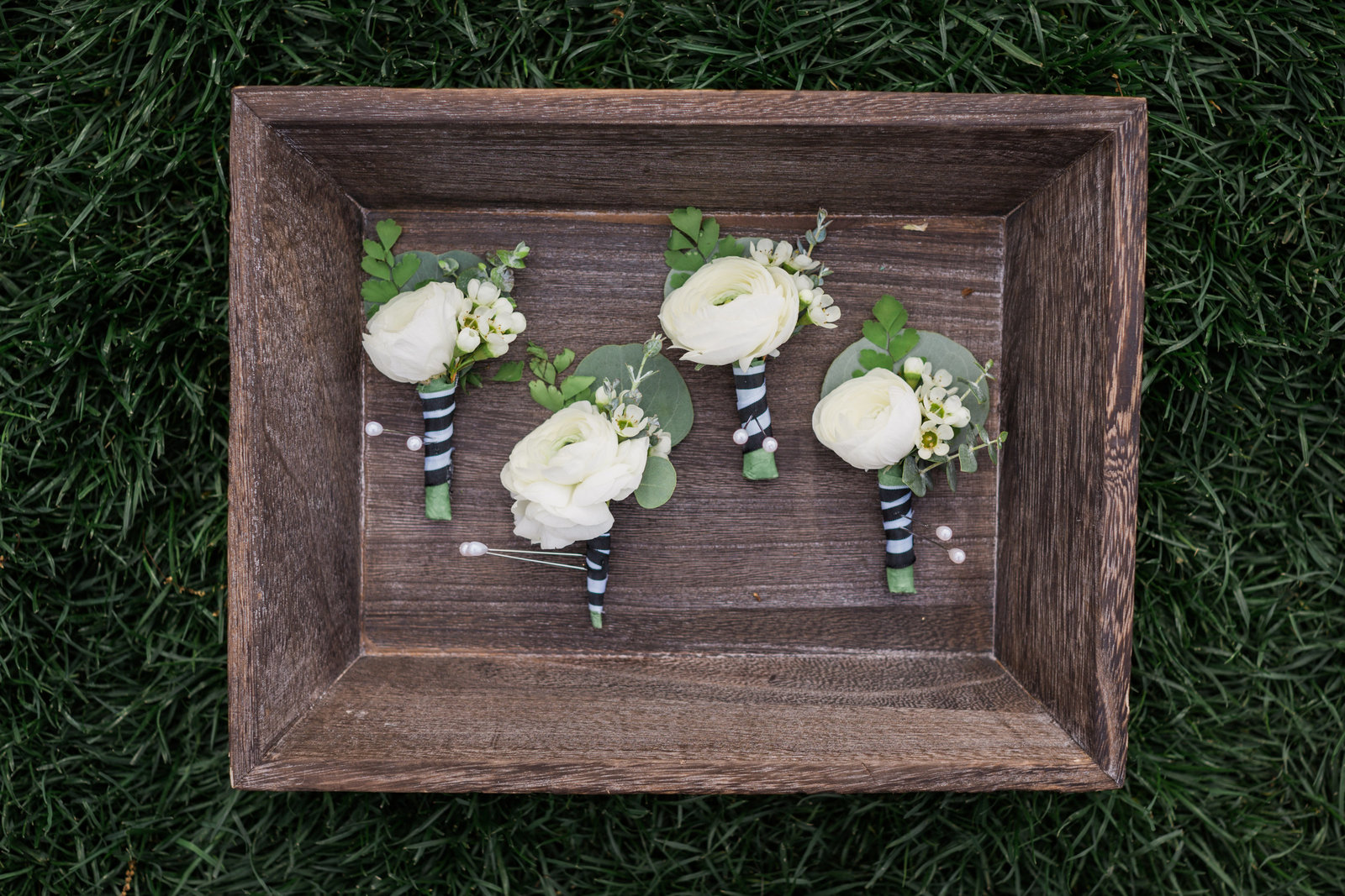 whimsical boutonnieres from r love florals