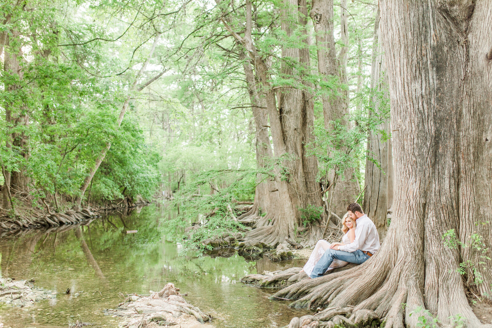 boerne engagement session