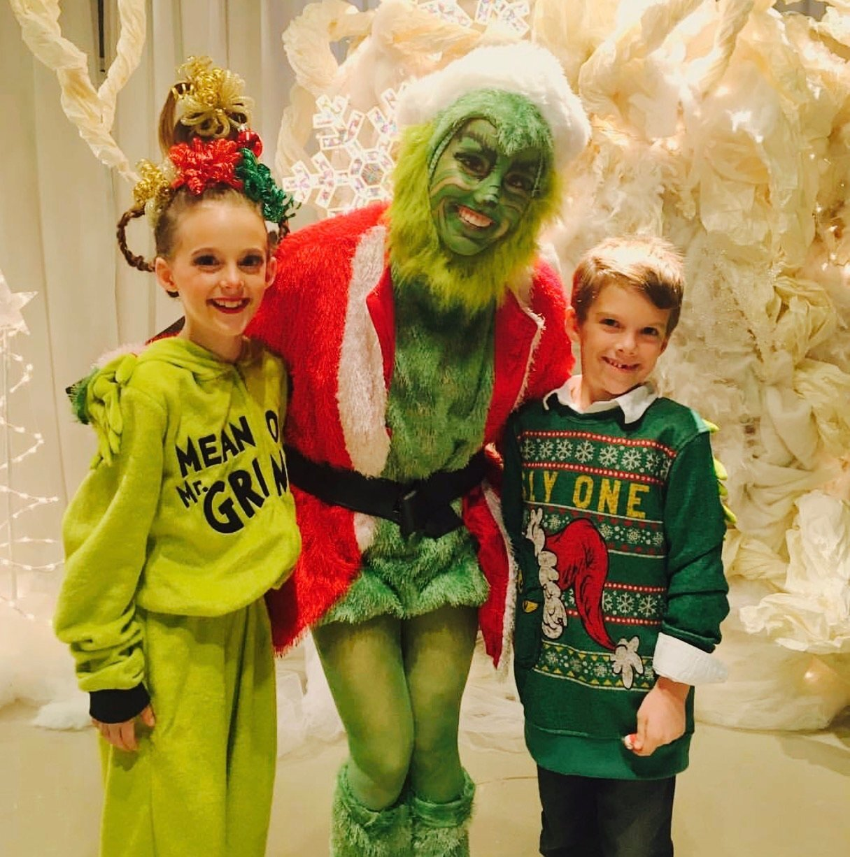 The Grinch Who Stole Christmas Performance