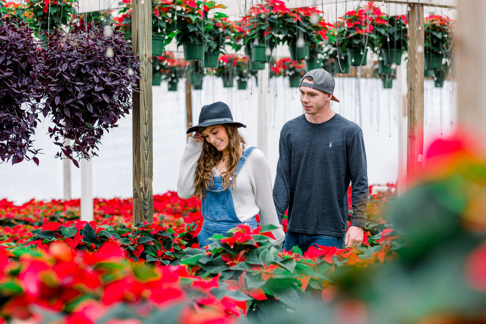Greenhouse-At-Home-Couple-Engagement-photoshoot-1