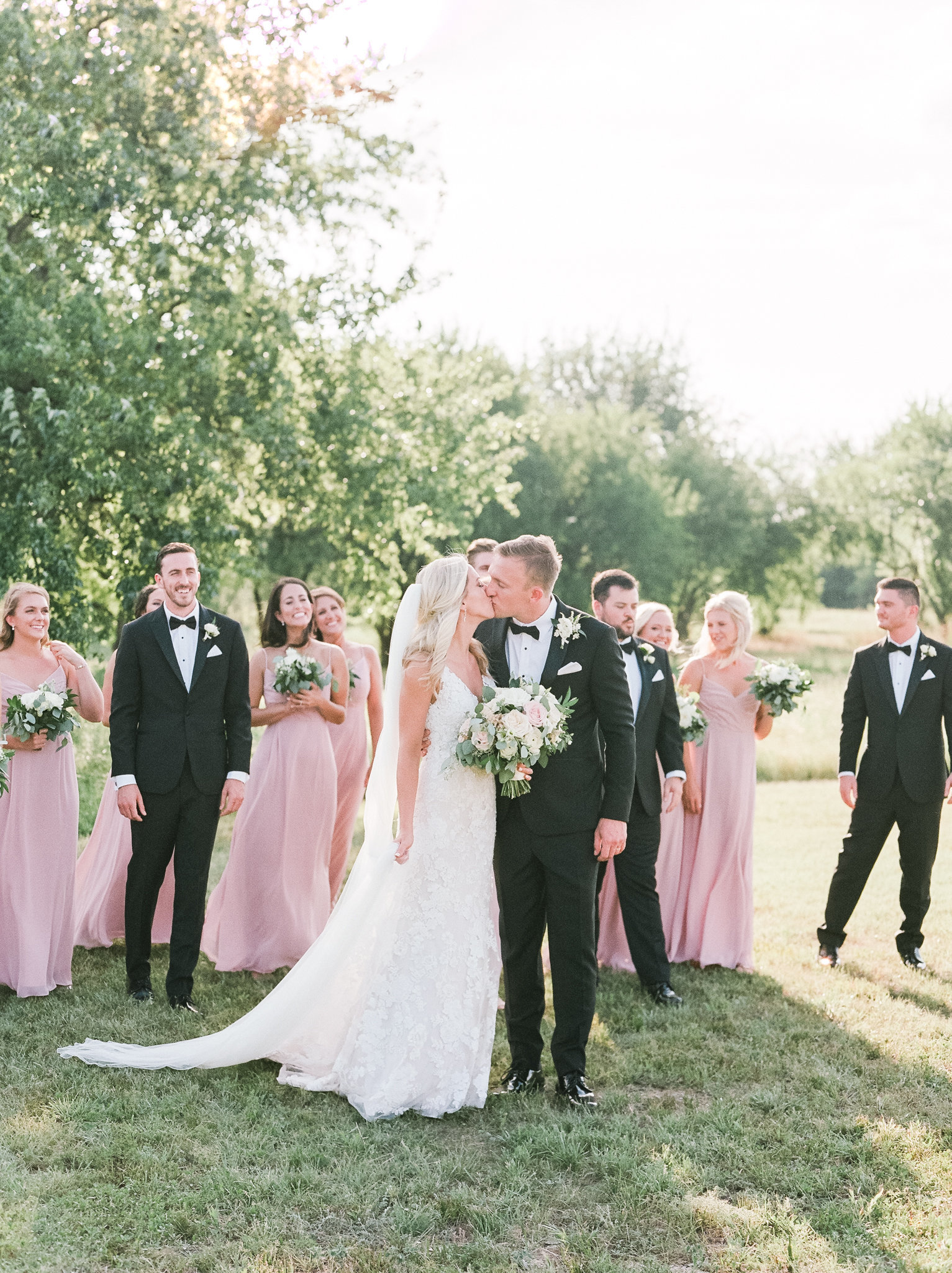 Katie & Nick Wedding at The Nest at Ruth Farms | Sami Kathryn Photography | DFW Dallas Wedding Photographer-87