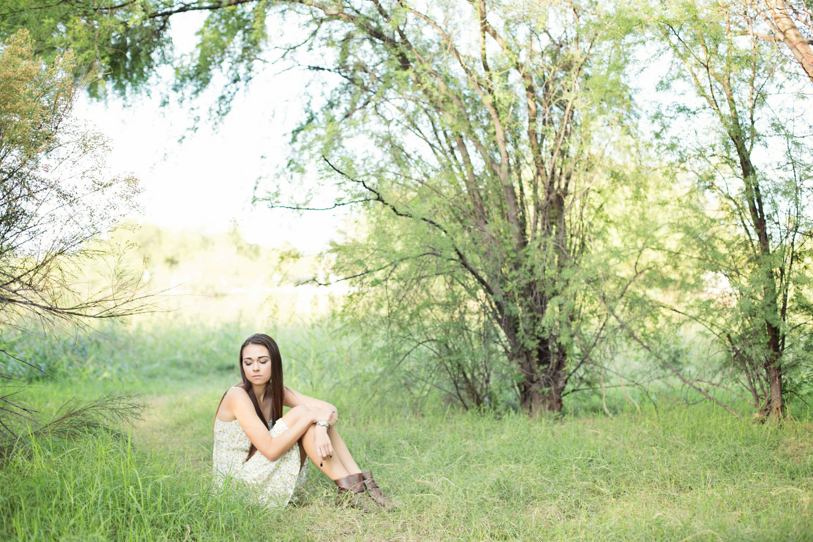outdoor senior girl photographer arizona