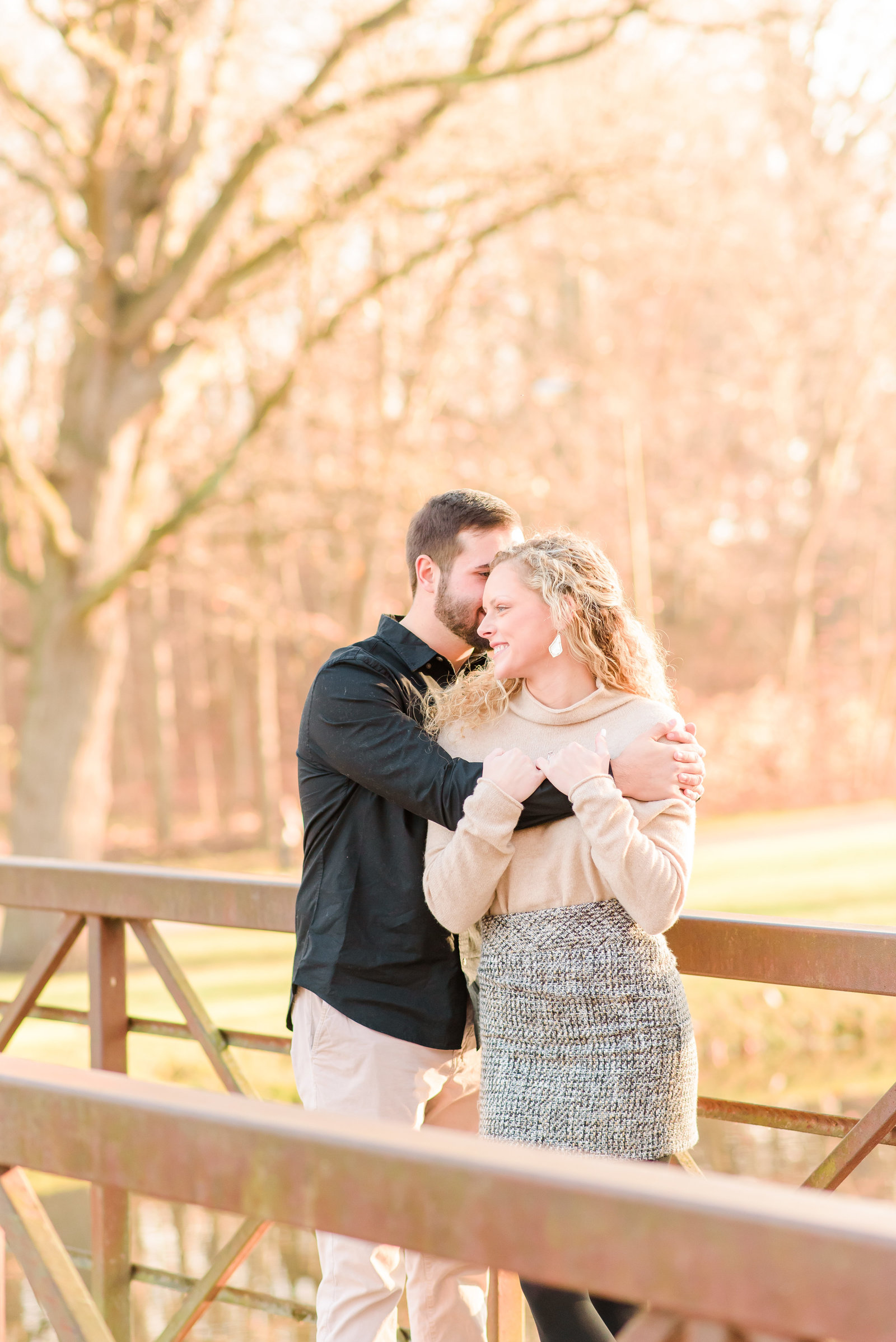 Engagement Session at Holcomb Gardens