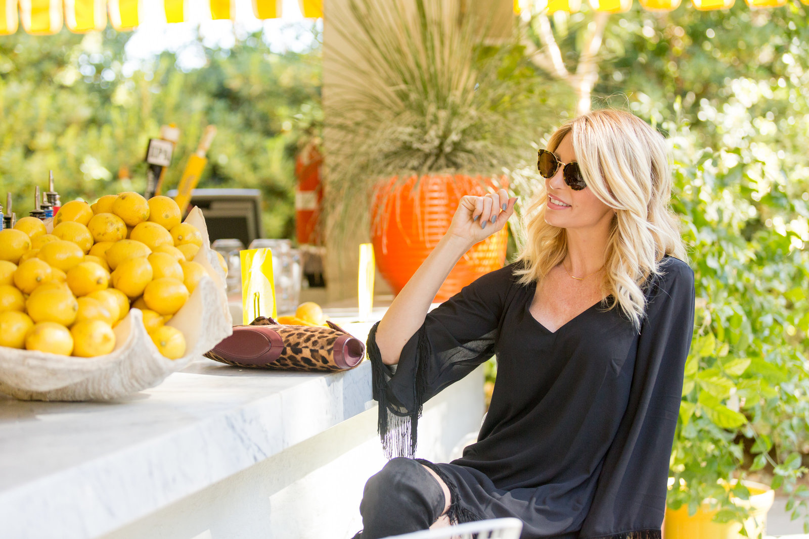 Lifestyle Fashion with Lyndi in the City, Palm Springs Photographer Erica Mendenhall
