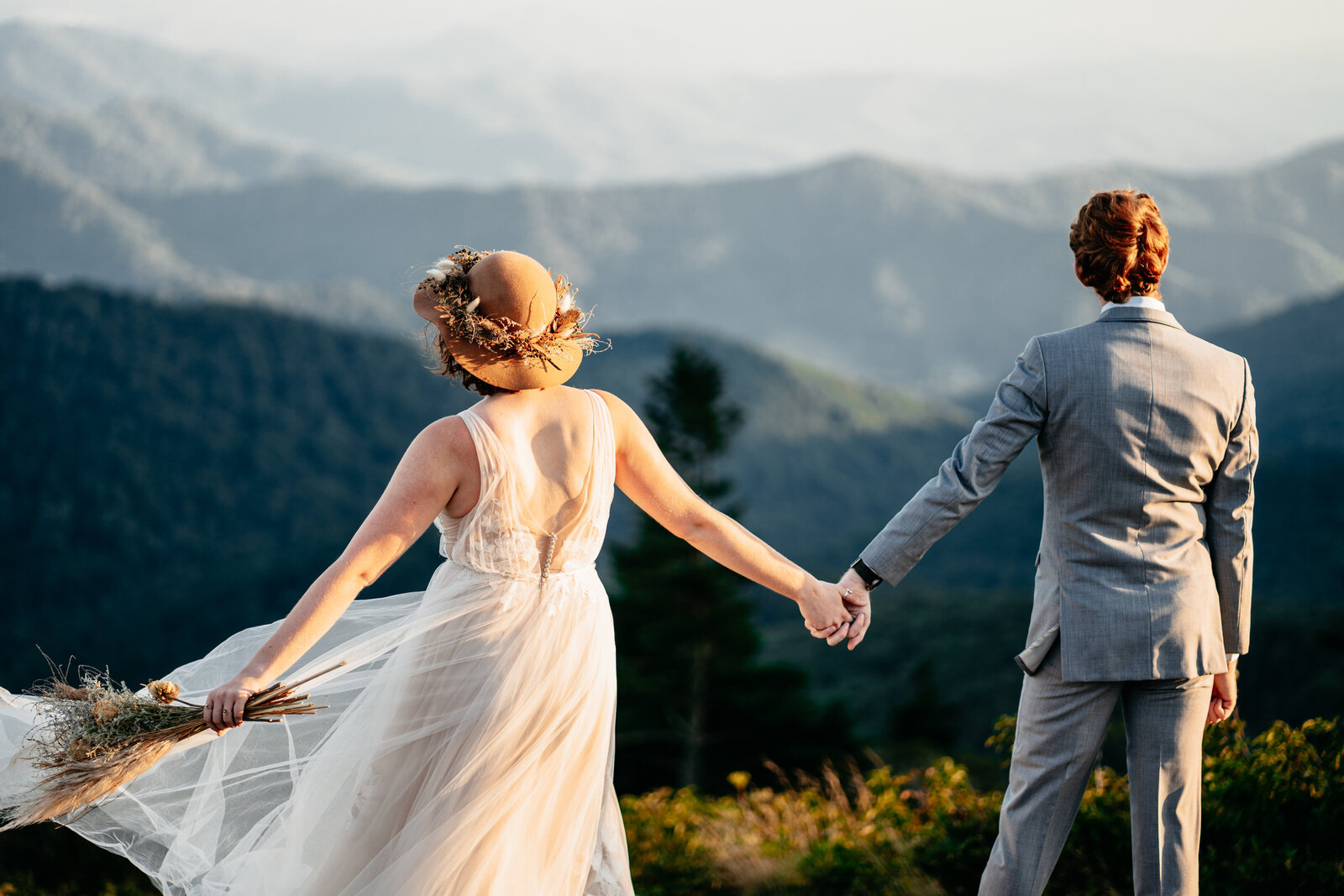 Asheville Wedding Elopement Roan Mountain 37Mercy Photography