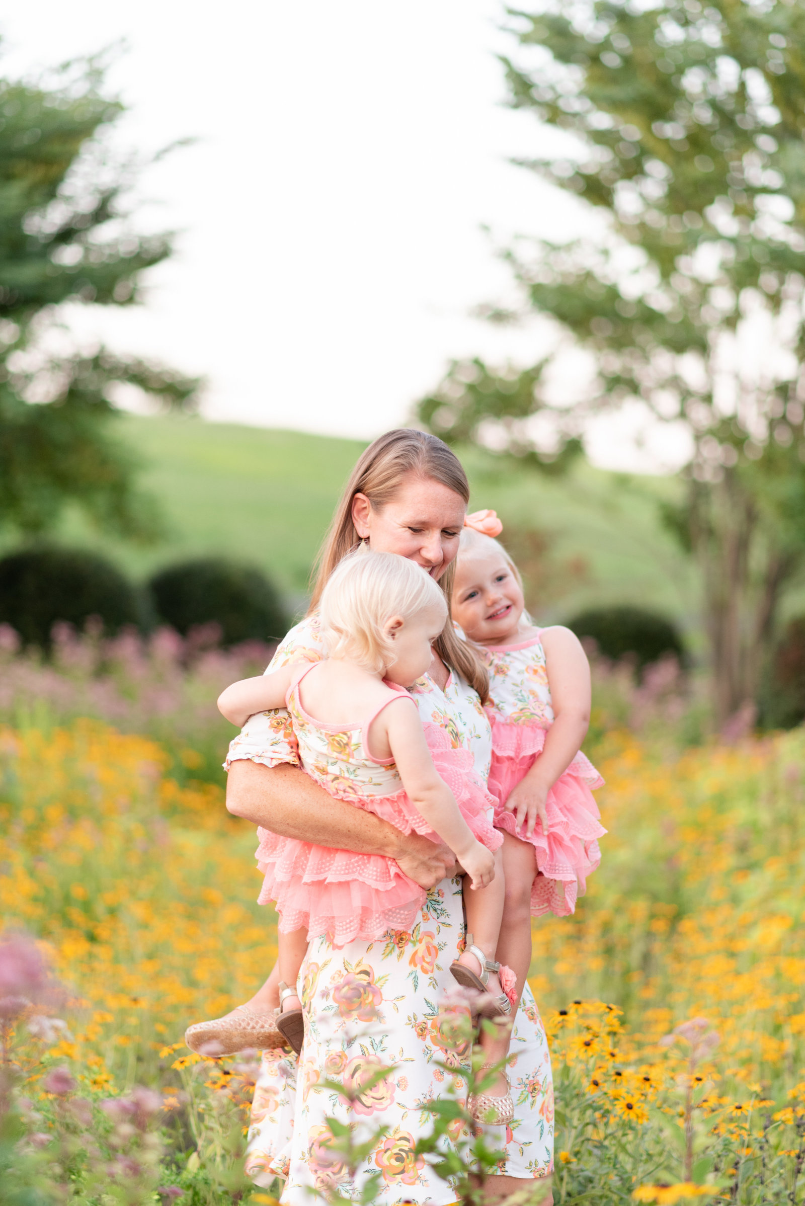 Tennessee Flower Field sunset family portraits (23 of 40)